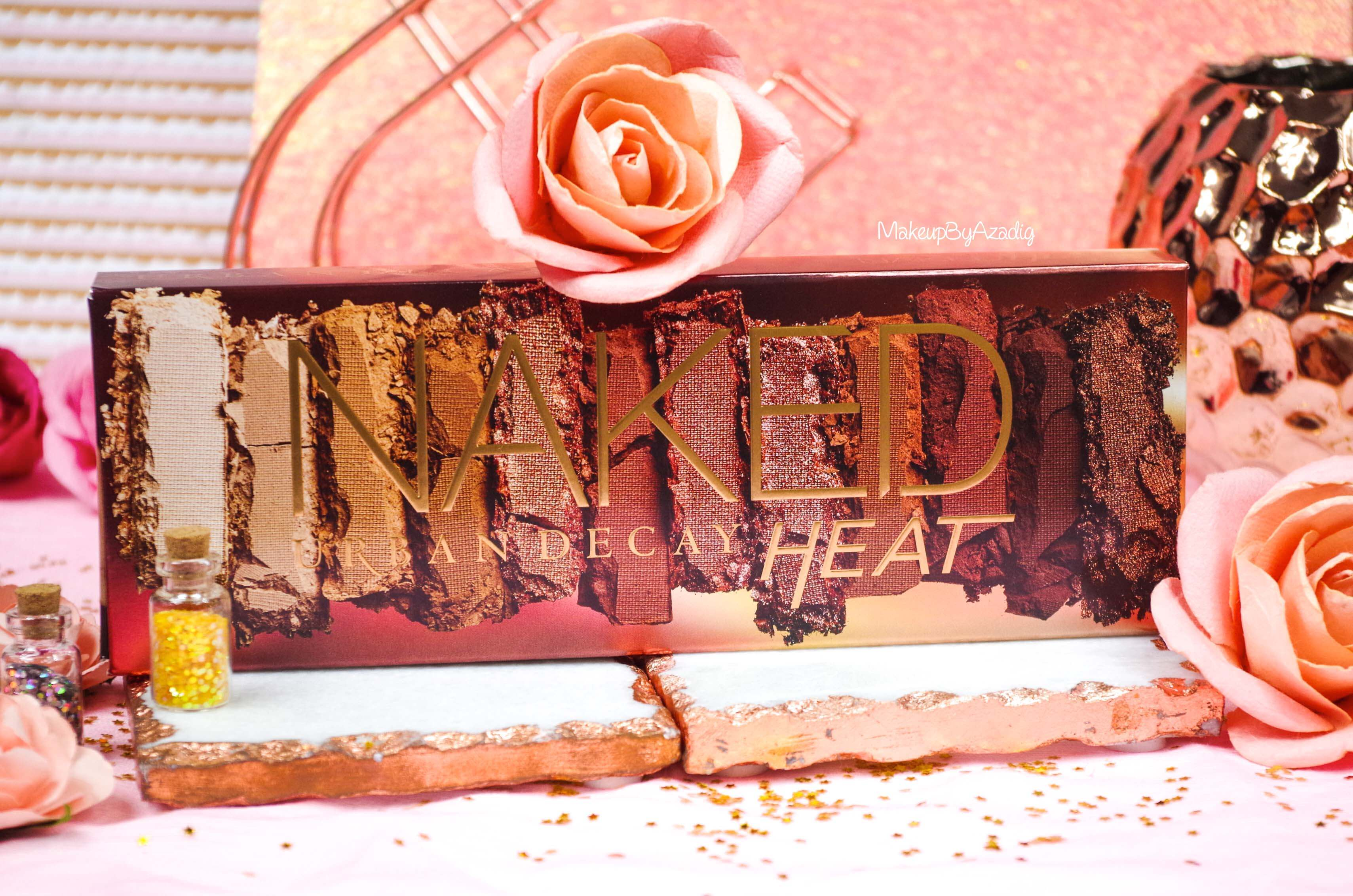 revue-review-nouvelle-palette-naked-heat-urban-decay-sephora-avis-prix-france-makeupbyazadig-swatch-perfect