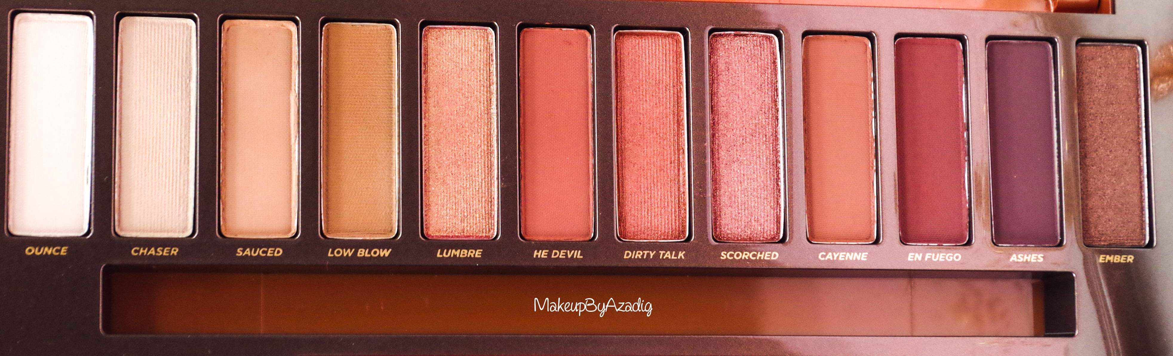 revue-review-nouvelle-palette-naked-heat-urban-decay-sephora-avis-prix-france-makeupbyazadig-swatch-swatches