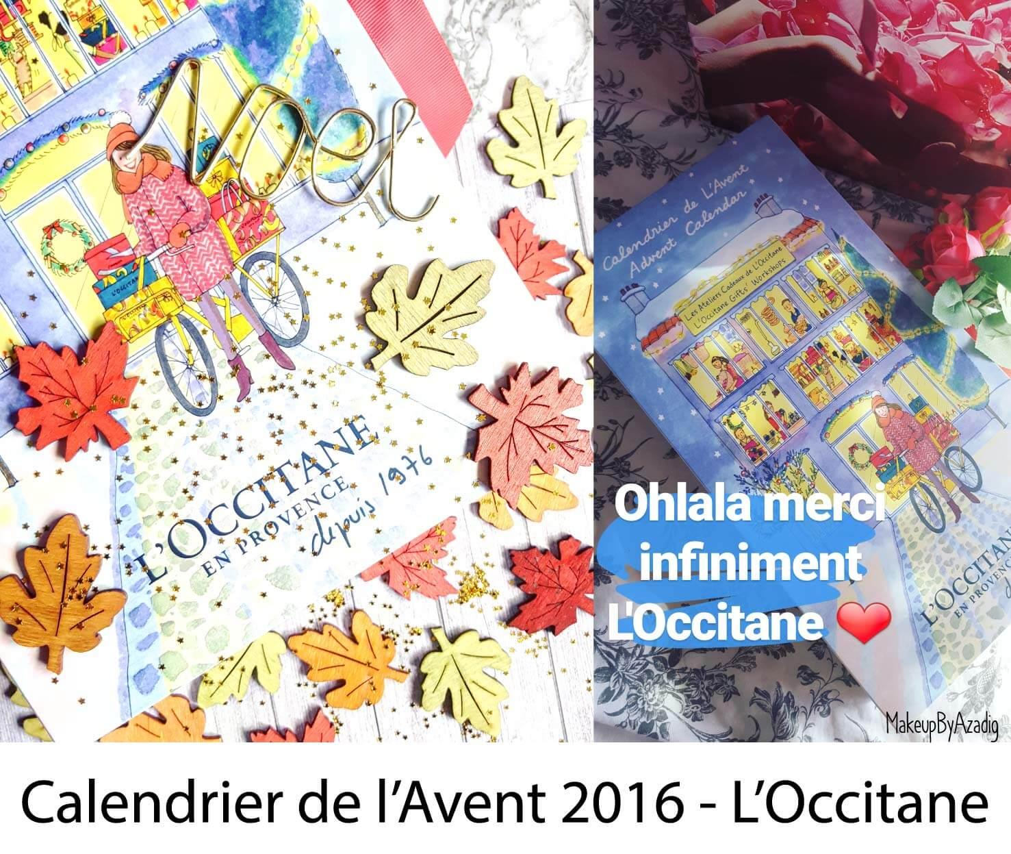 Calendrier De L Avant Occitane.Calendrier De L Avent L Occitane 2017 Reservation