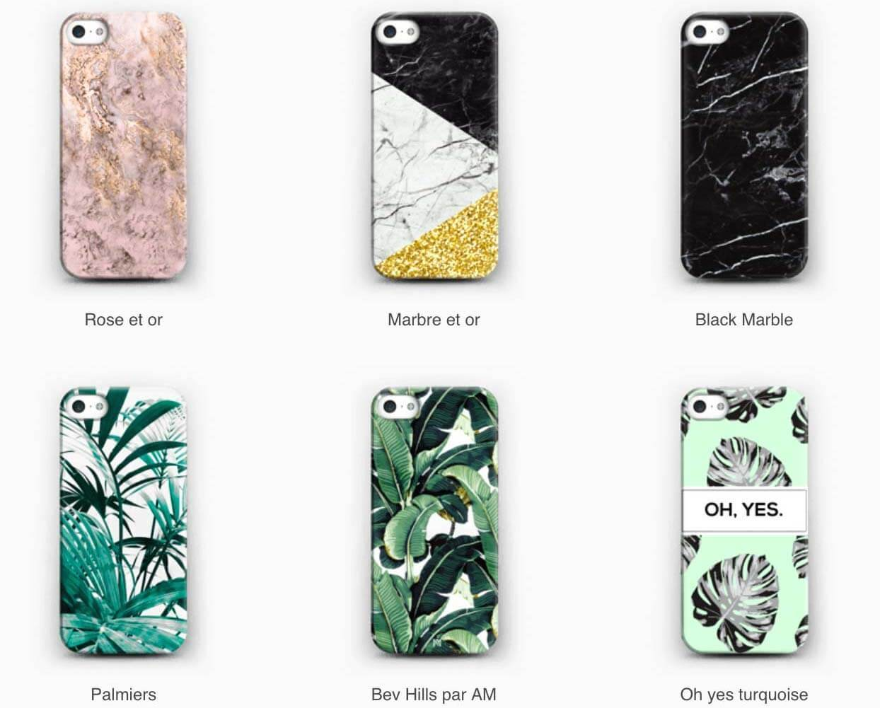 coque-skin-personnalise-caseapp-marbre-tropical-photo-makeupbyazadig-code-promo-kawai