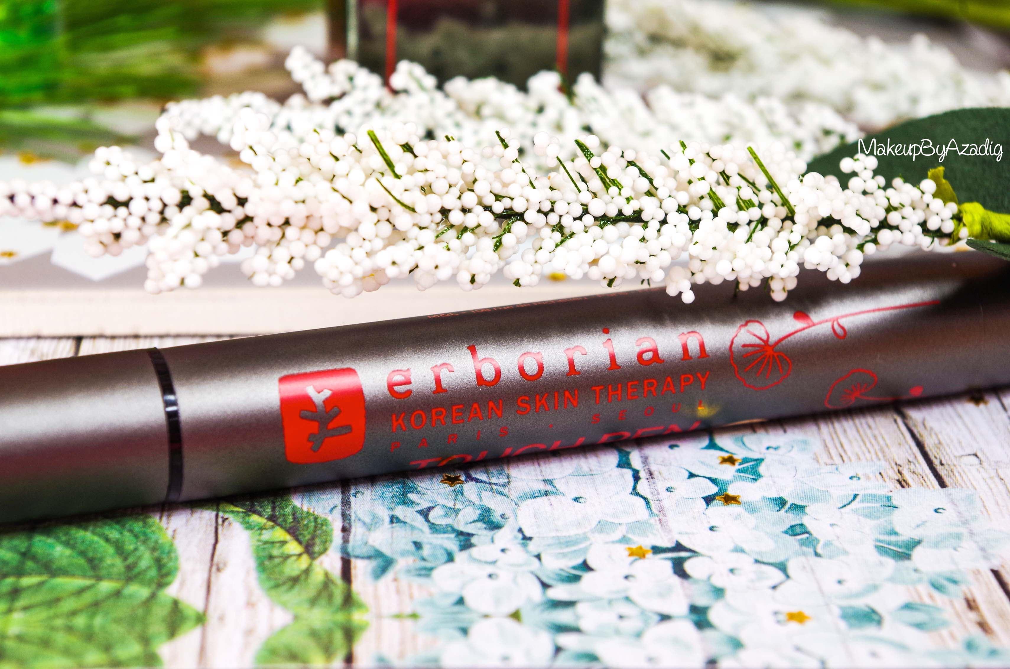revue-nouveaute-erborian-touch-pen-zones-de-lumiere-visage-makeupbyazadig-prix