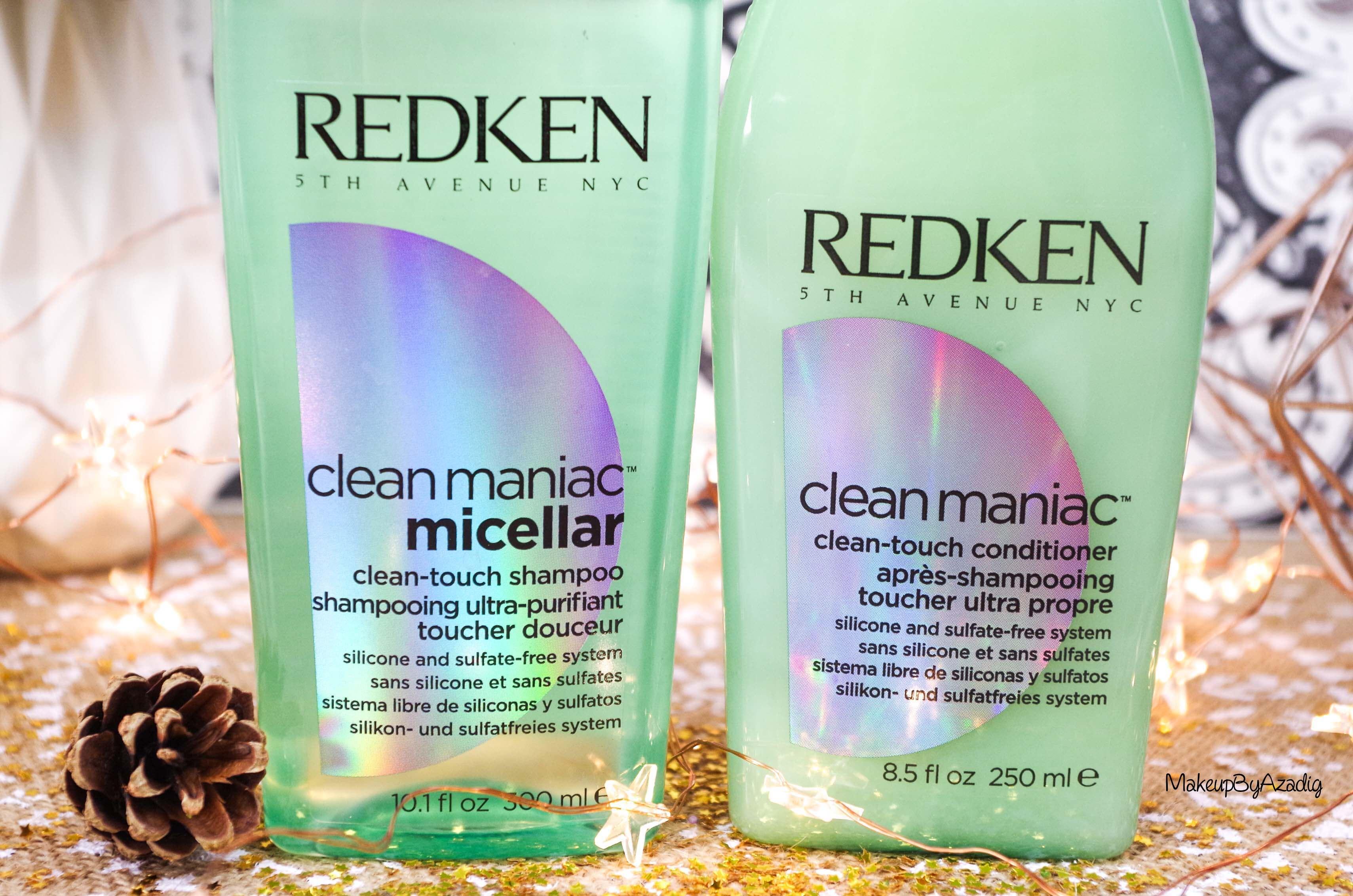 revue-shampooing-conditioner-clean-maniac-redken-programme-detox-anti-pollution-makeupbyazadig-cleanhair-sans-silicone-sulfate-avis