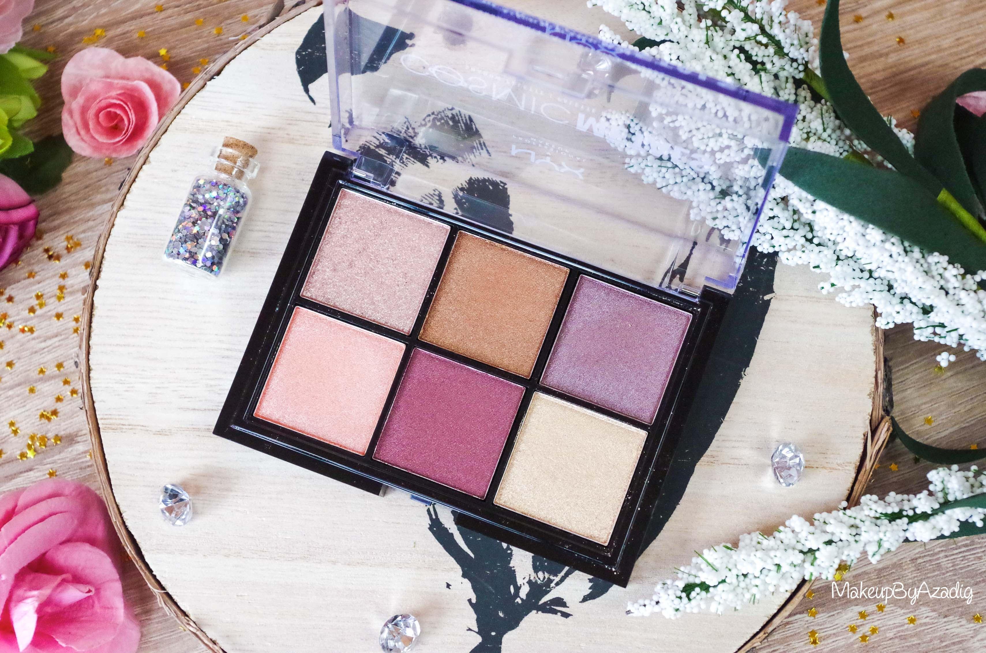 revue-palette-fards-paupieres-cosmic-metals-nyx-cosmetics-pas-cher-meilleure-makeupbyazadig-influencer-miniature