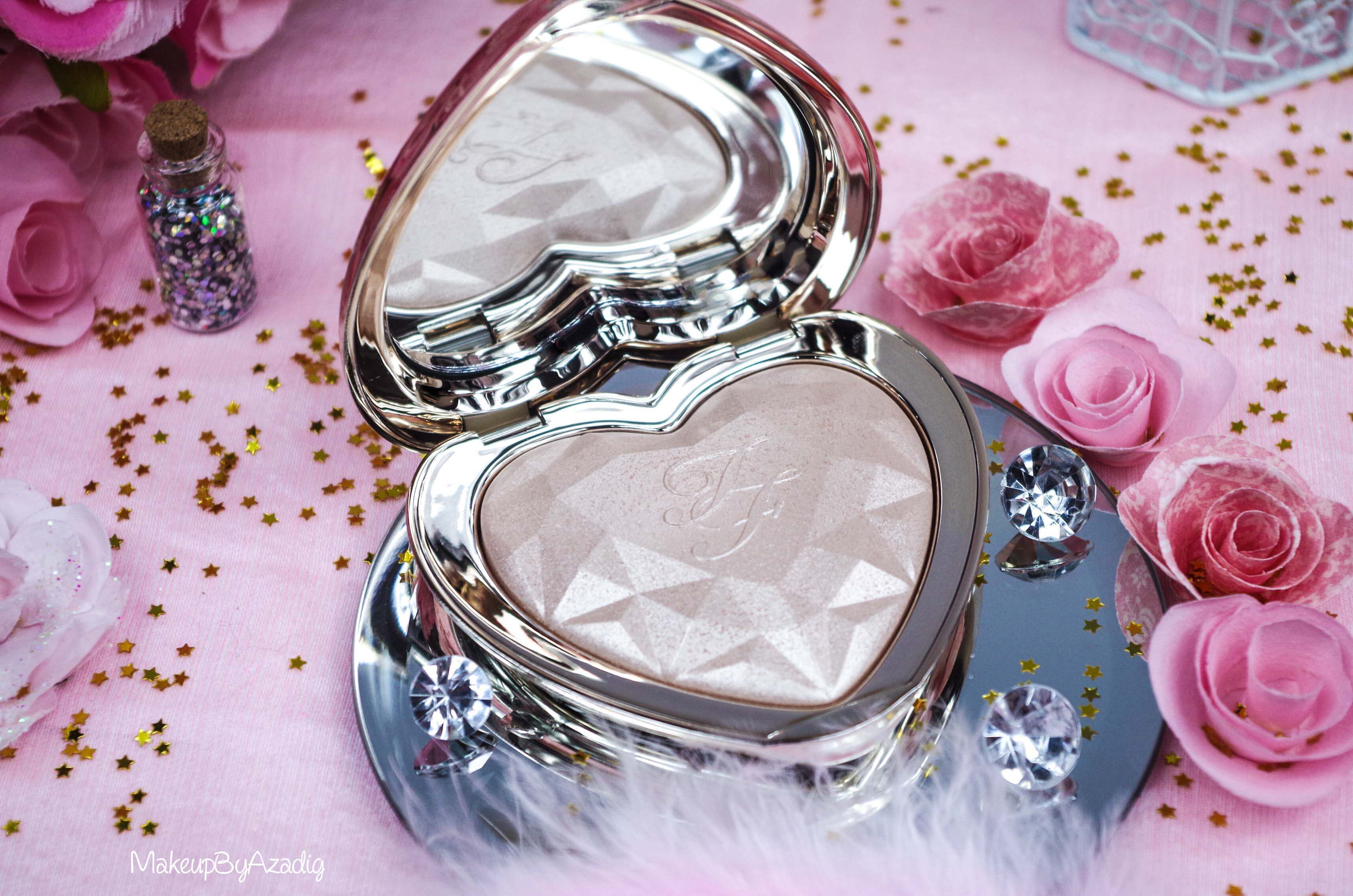 revue-review-highlighter-love-light-too-faced-coeur-avis-prix-sephora-makeupbyazadig-blogger
