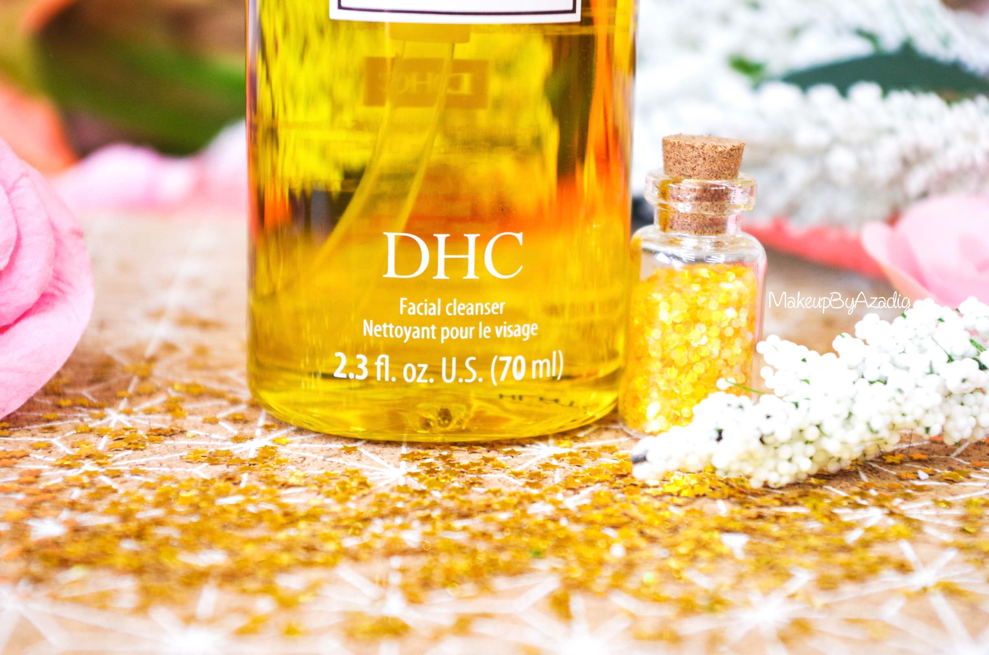 revue-review-huile-demaquillante-deep-cleansing-oil-dhc-meilleure-avis-prix-nocibe-monoprix-makeupbyazadig-contenu