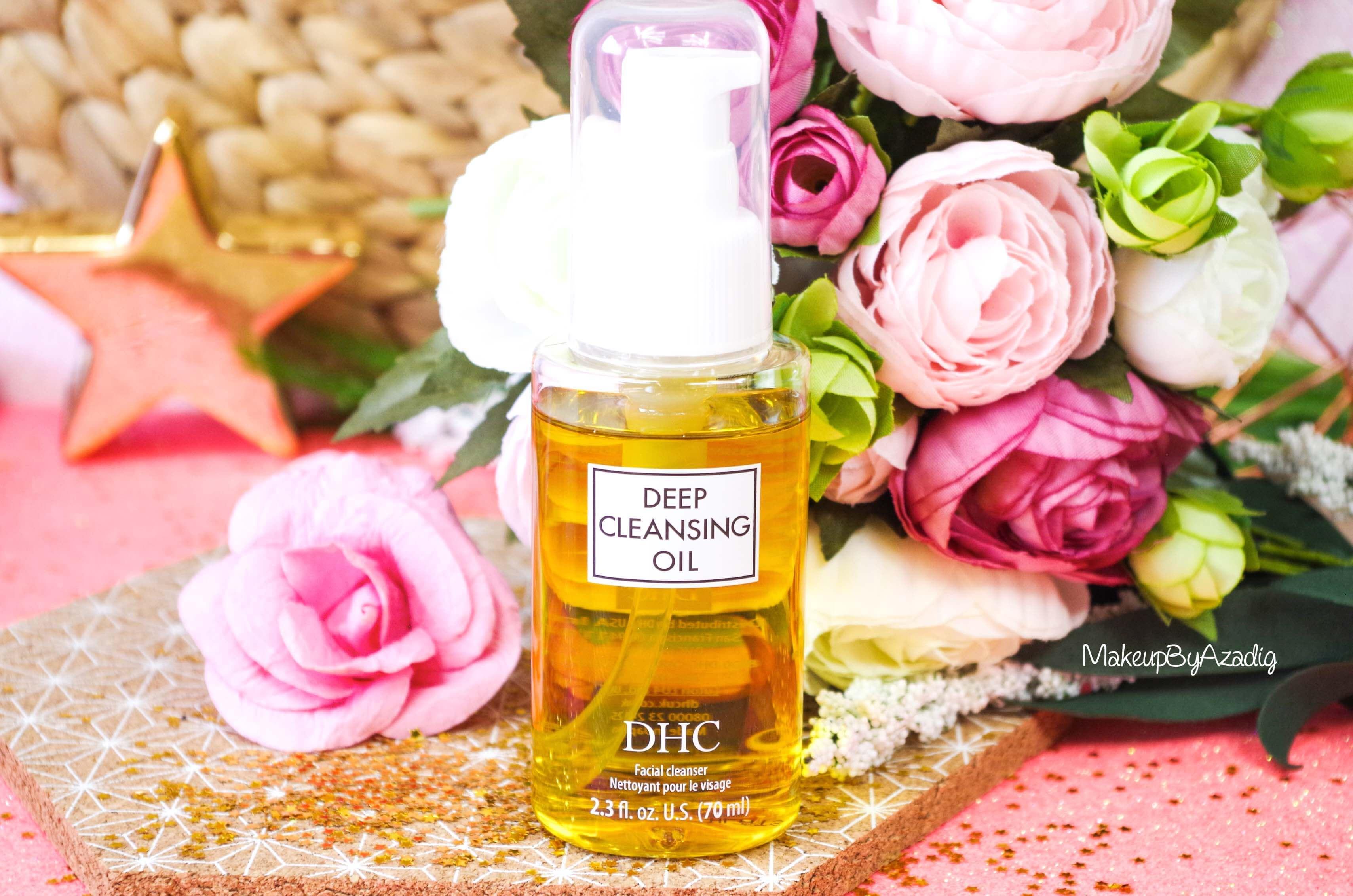 revue-review-huile-demaquillante-deep-cleansing-oil-dhc-meilleure-avis-prix-nocibe-monoprix-makeupbyazadig-miniature