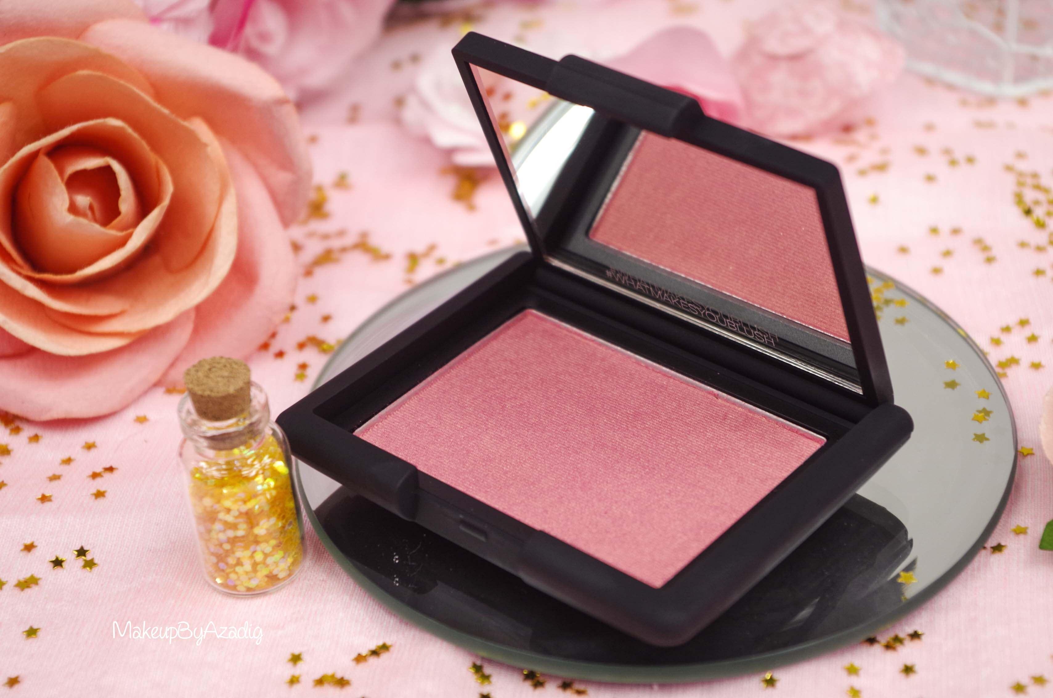 blush-liquide-orgasm-rouge-a-levres-illuminateur-highlighter-rosegold-nars-revue-makeupbyazadig