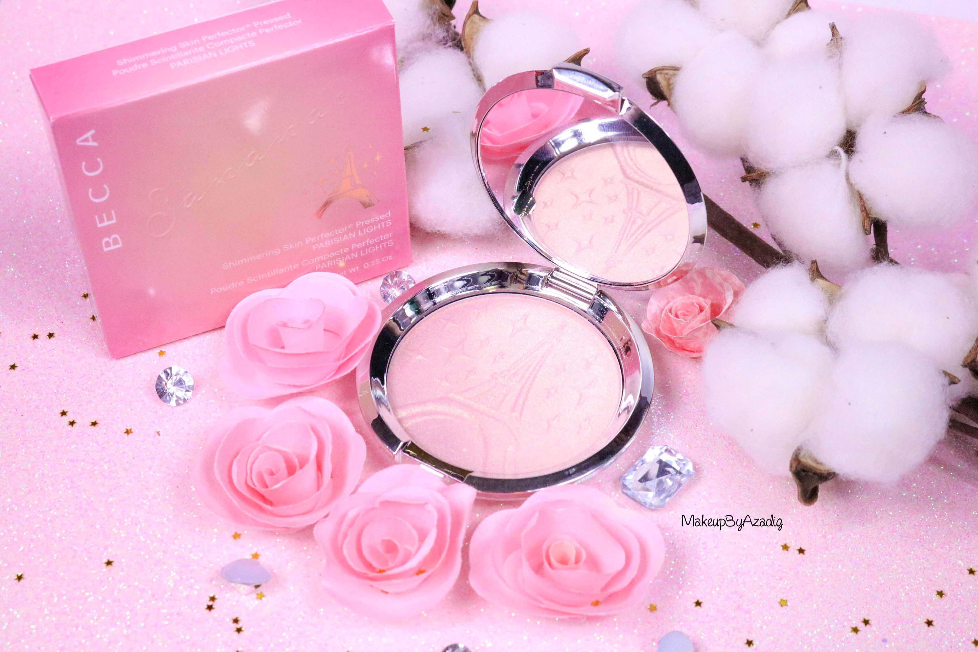 revue-highlighter-becca-sananas-parisian-lights-prix-avis-swatch-beccaxsananas-paris-youtuber-diamond