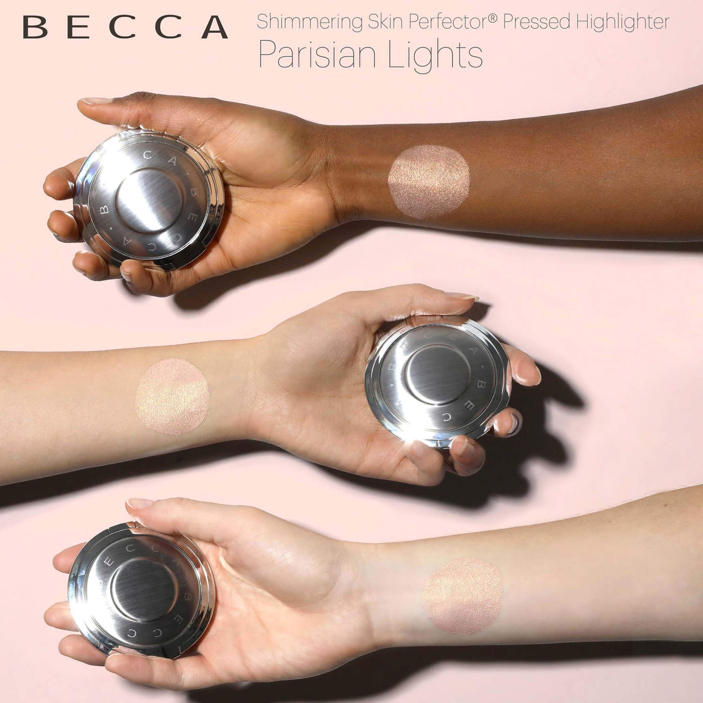 89 Revue Highlighter Parisian Lights Becca X Sananas