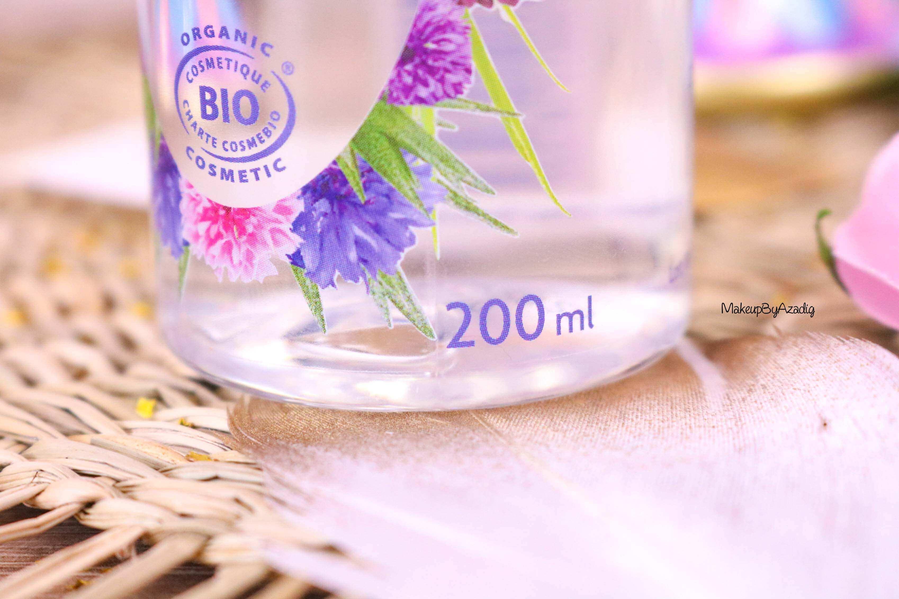 revue-eau-micellaire-peau-sensible-cosmetique-bio-fleurance-nature-makeupbyazadig-florale-bleuet-prix-avis-quantite