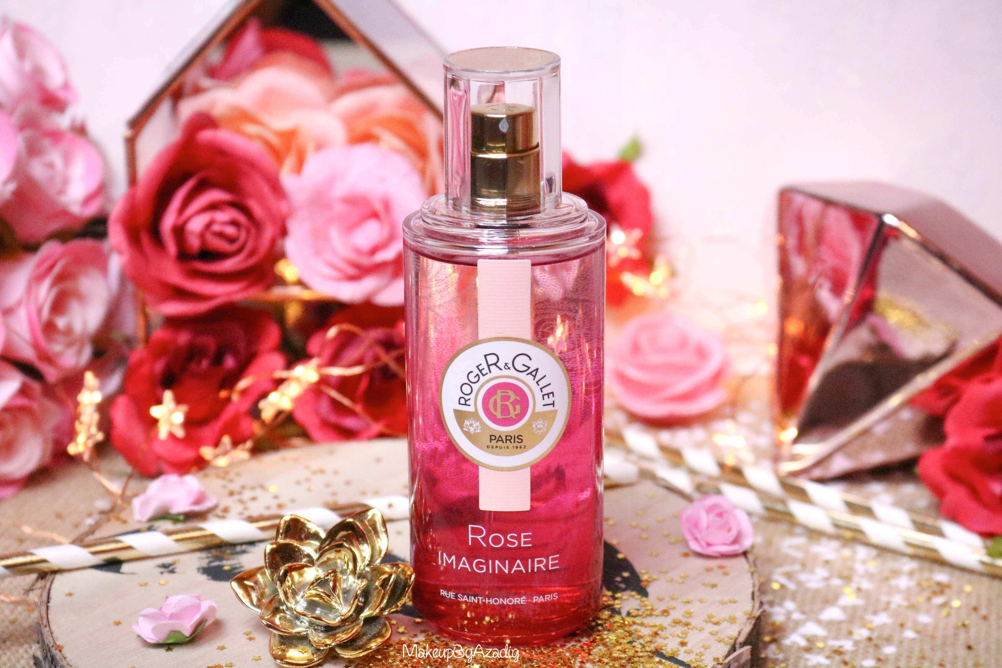 revue-eau-parfumee-bienfaisante-rose-imaginaire-roger-gallet-makeupbyazadig-parfum-bonne-tenue-avis-prix-monoprix-flacon