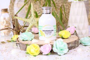 Le savon « Moussaillon » édition Mimosa de Indemne.