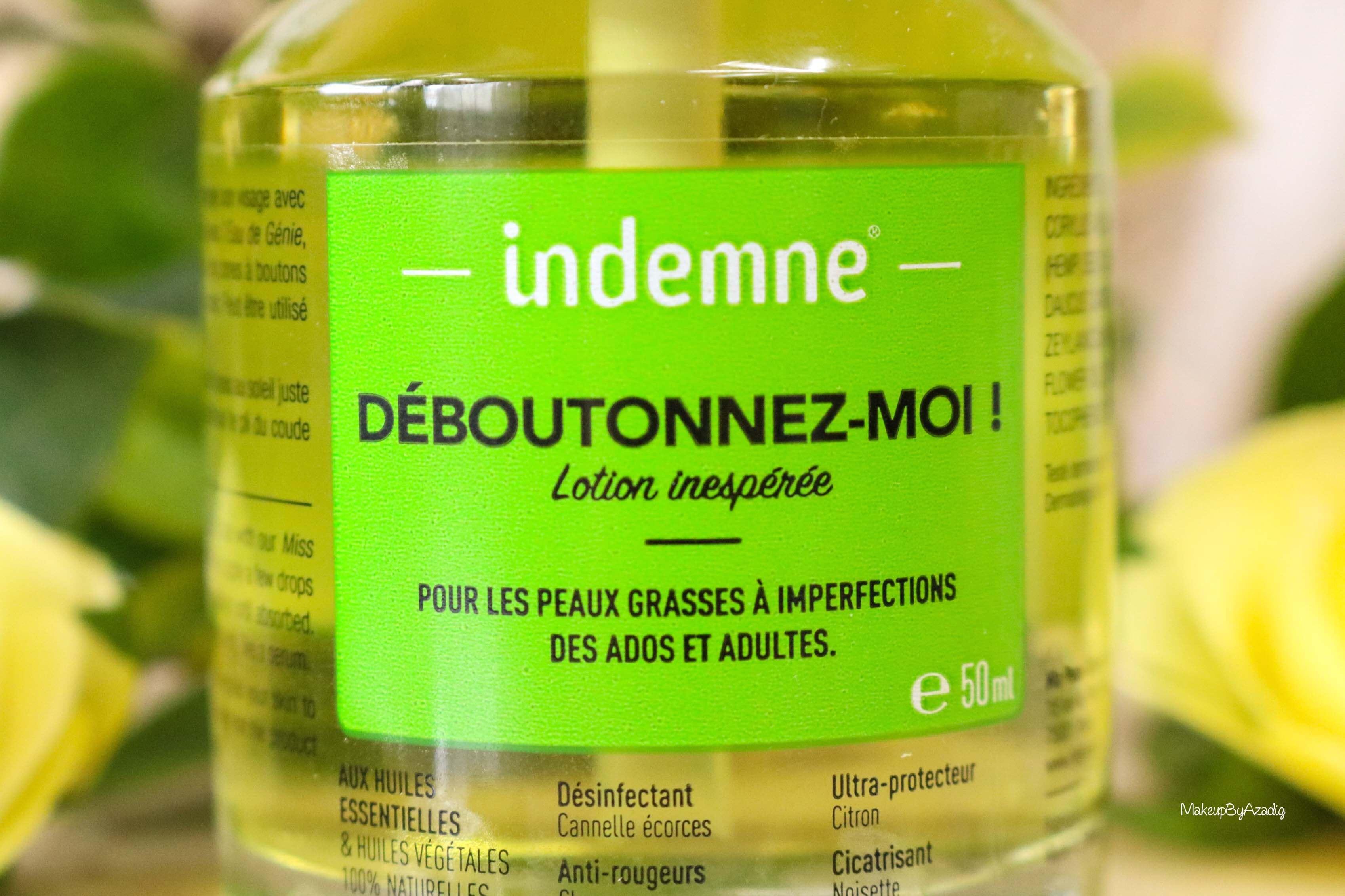 revue-deboutonnez-moi-indemne-produit-acnee-bio-huiles-parapharmacie-prix-avis-makeupbyazadig-imperfections