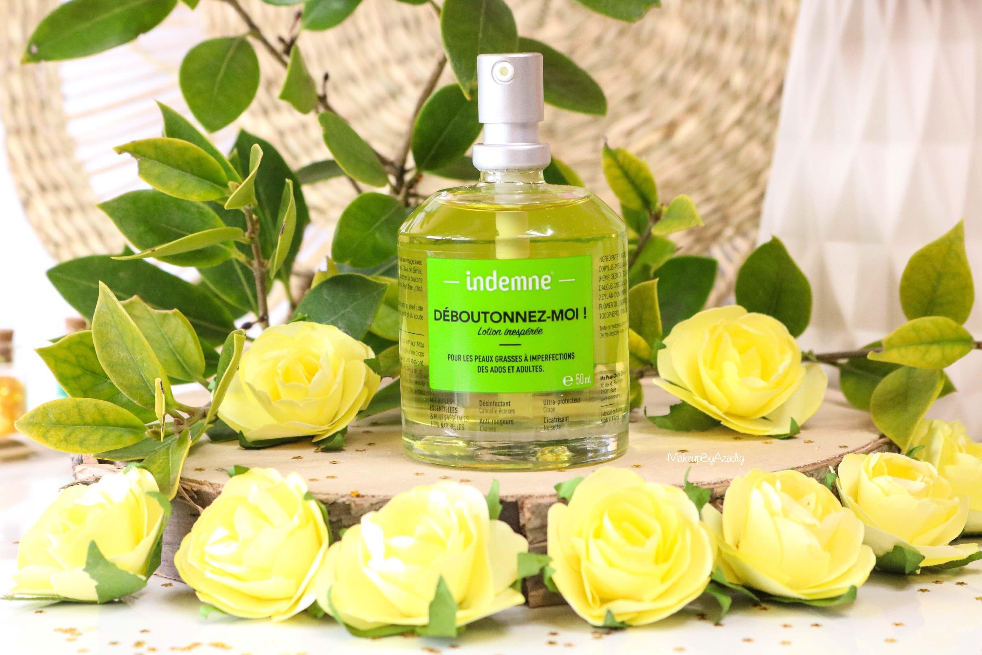 revue-deboutonnez-moi-indemne-produit-acnee-bio-huiles-parapharmacie-prix-avis-makeupbyazadig-partenariat
