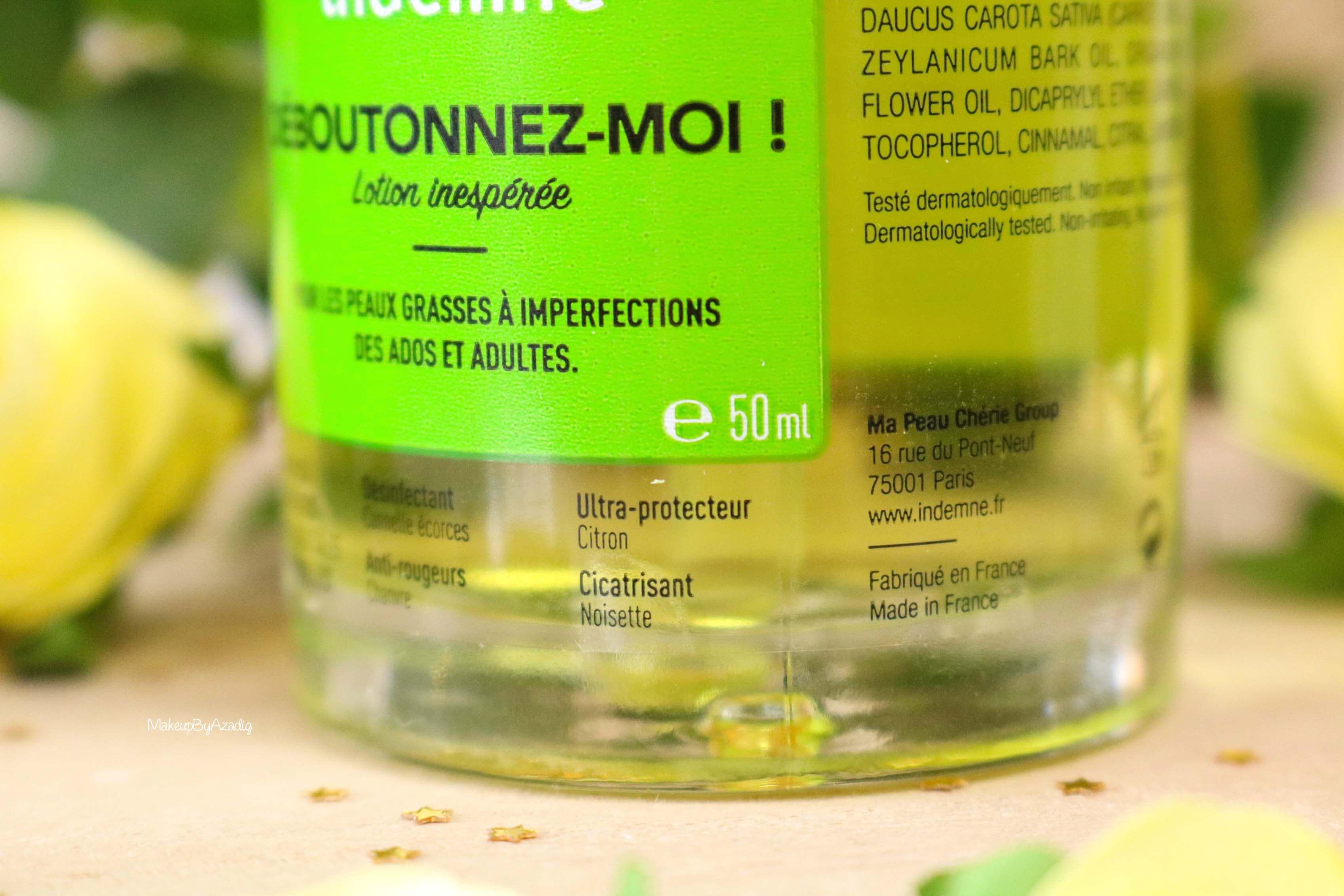 revue-deboutonnez-moi-indemne-produit-acnee-bio-huiles-parapharmacie-prix-avis-makeupbyazadig-quantitie