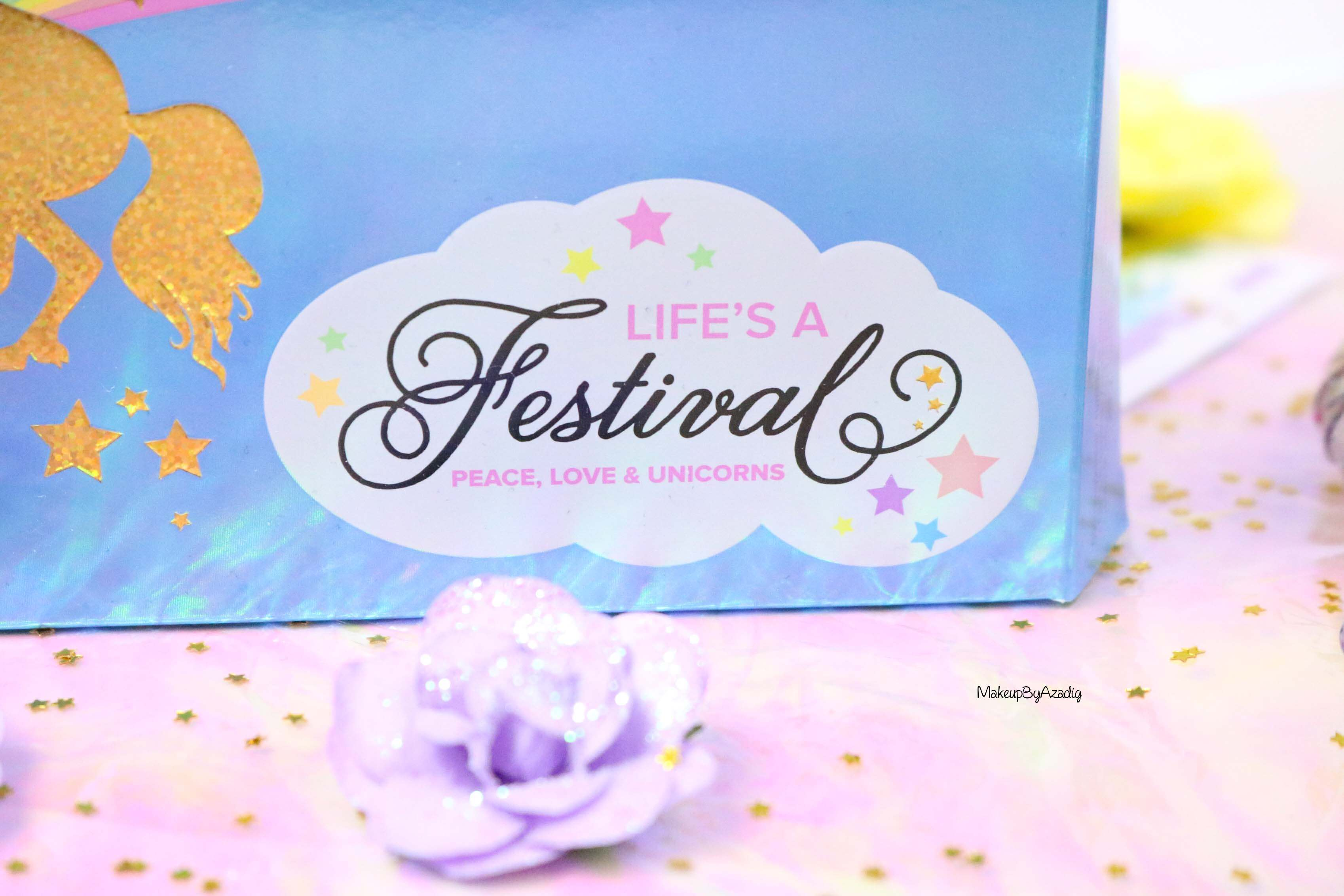 revue-palette-lifes-a-festival-too-faced-france-sephora-avis-prix-revue-makeupbyazadig-collection-licorne-love