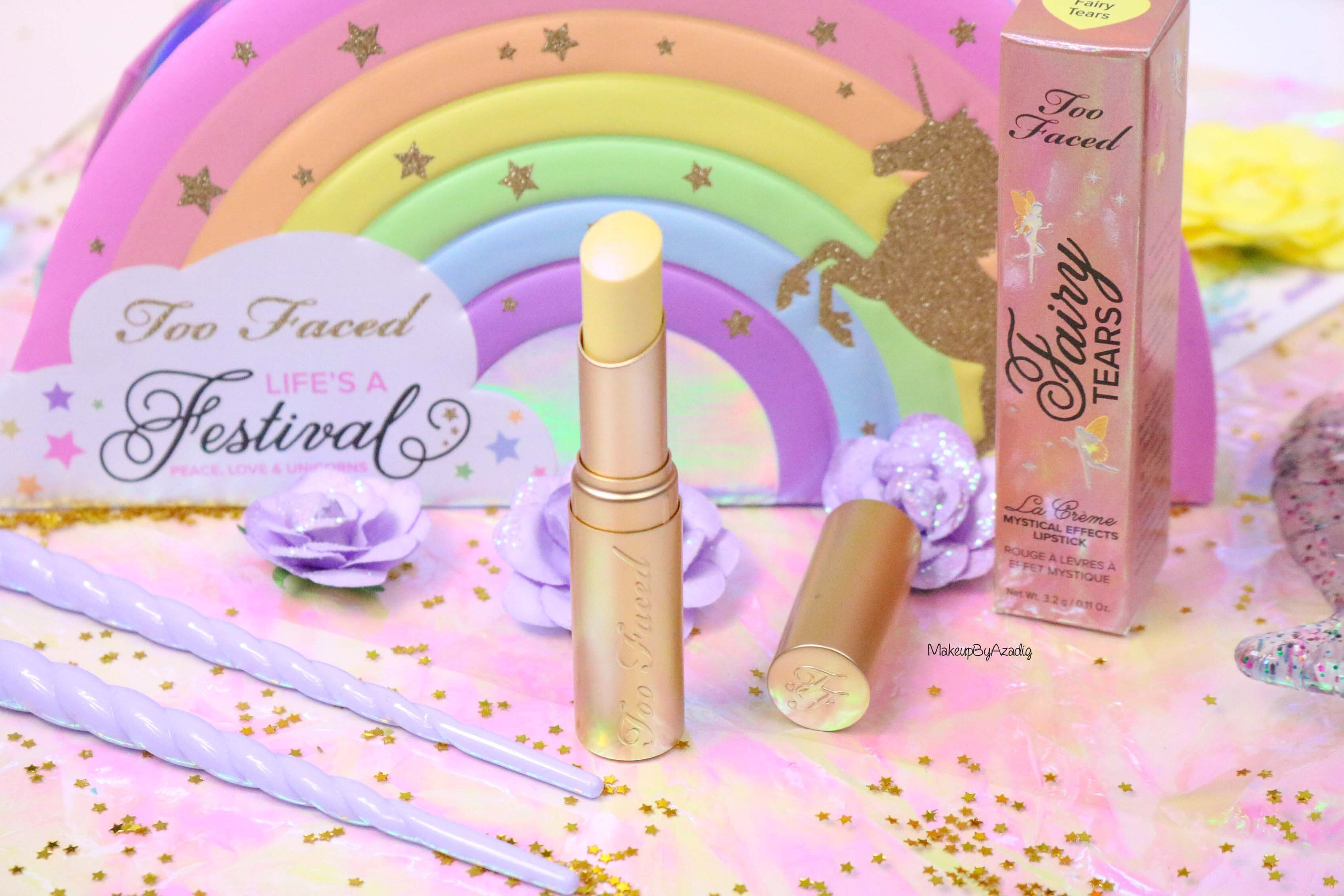 revue-review-mystical-lipstick-rouge-levres-magique-too-faced-avis-swatch-prix-france-makeupbyazadig-mermaid