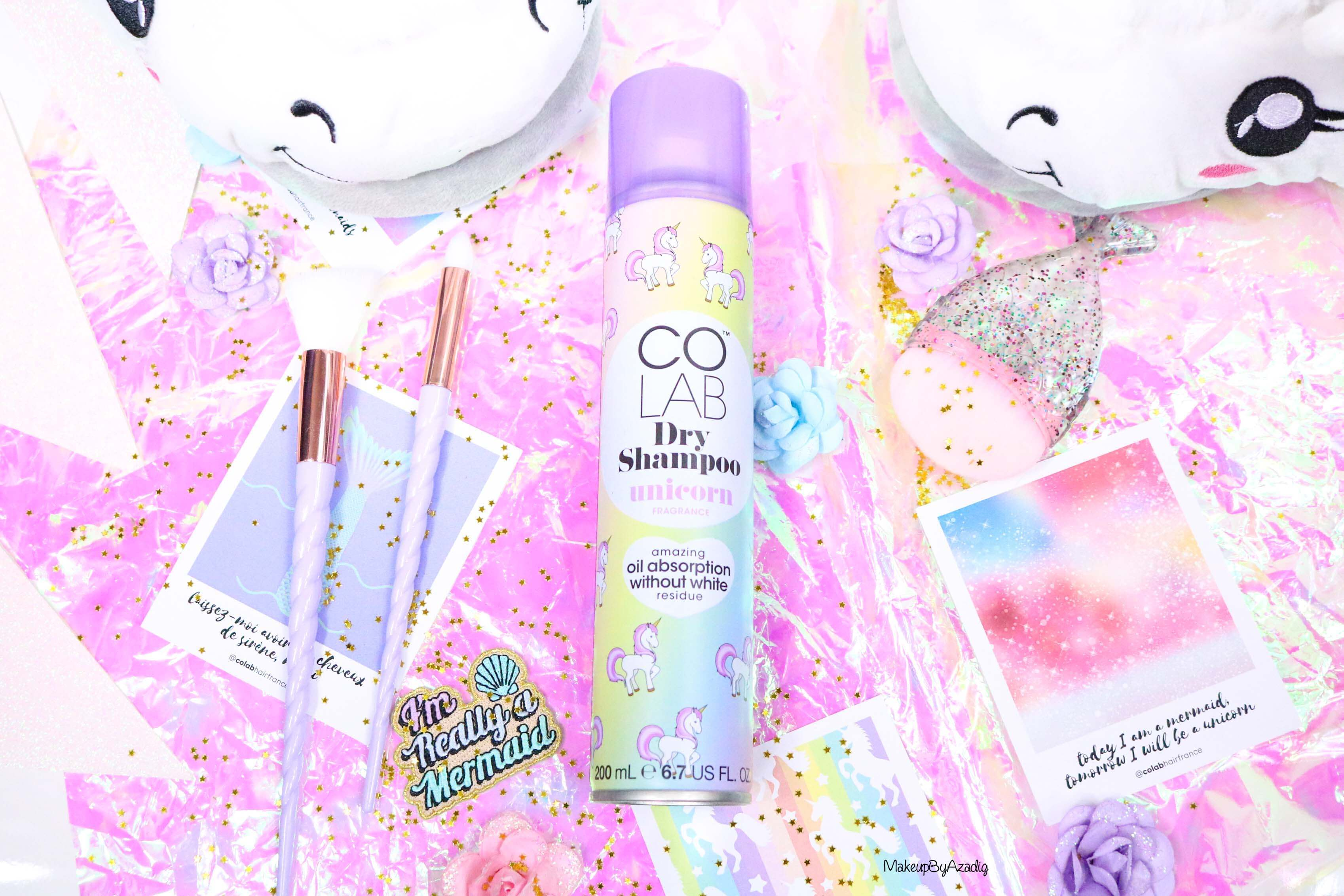 revue-shampooing-sec-colab-batiste-fresh-unicorn-monoprix-feelunique-prix-avis--soin-capillaire-efficacite-makeupbyazadig-fairy