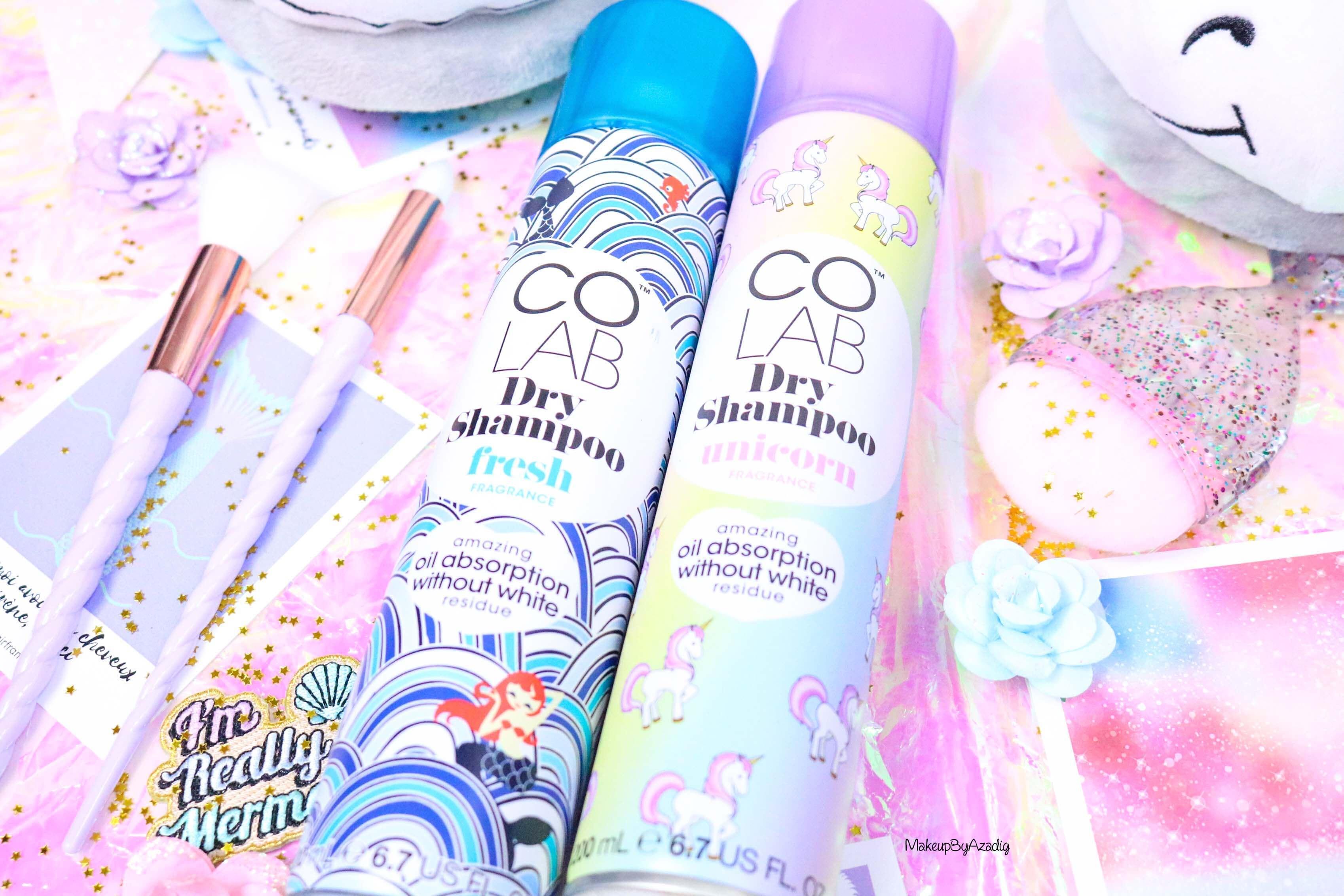 revue-shampooing-sec-colab-batiste-fresh-unicorn-monoprix-feelunique-prix-avis--soin-capillaire-efficacite-makeupbyazadig-licorne