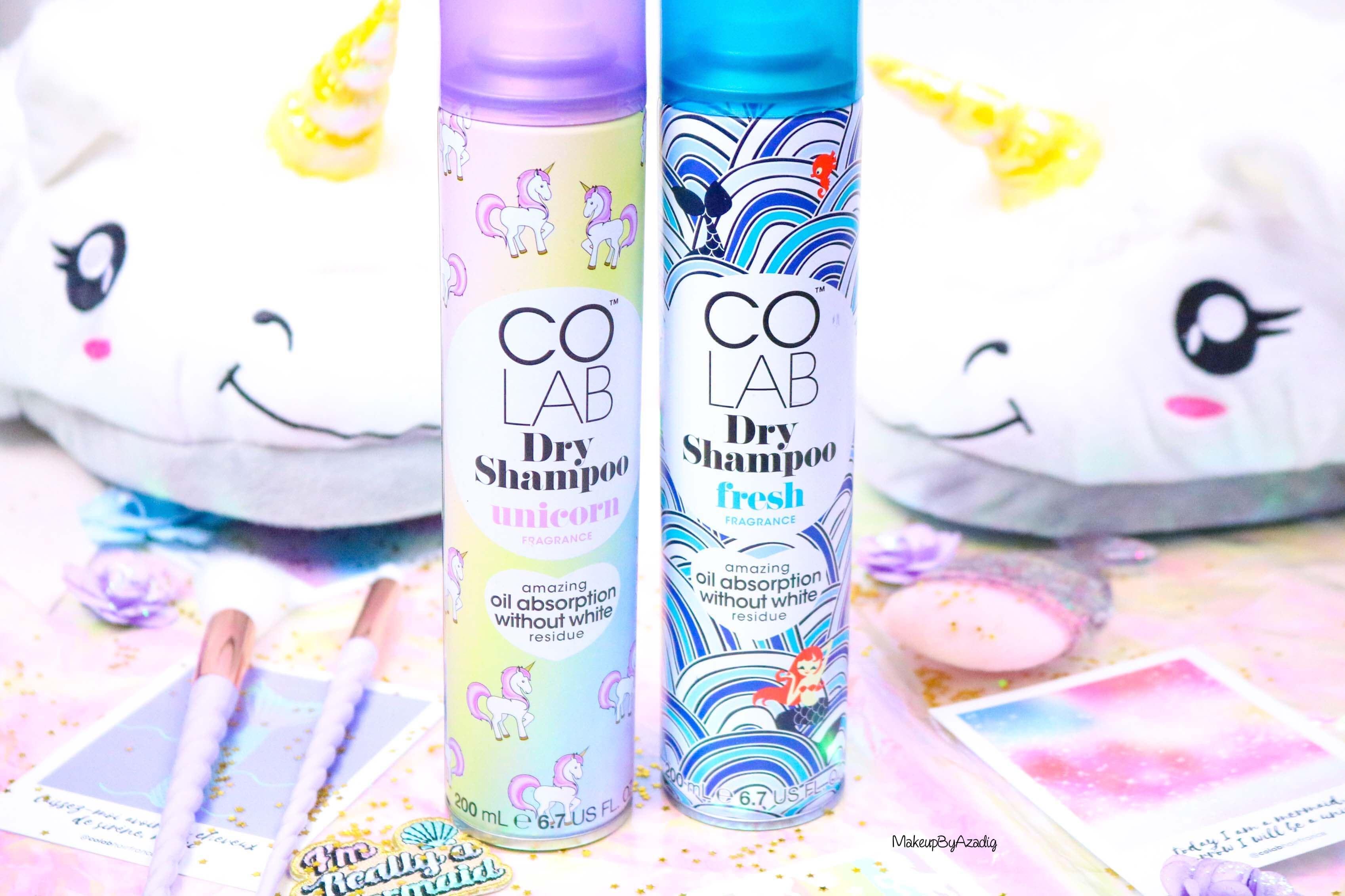 Les shampoings secs de COLAB.