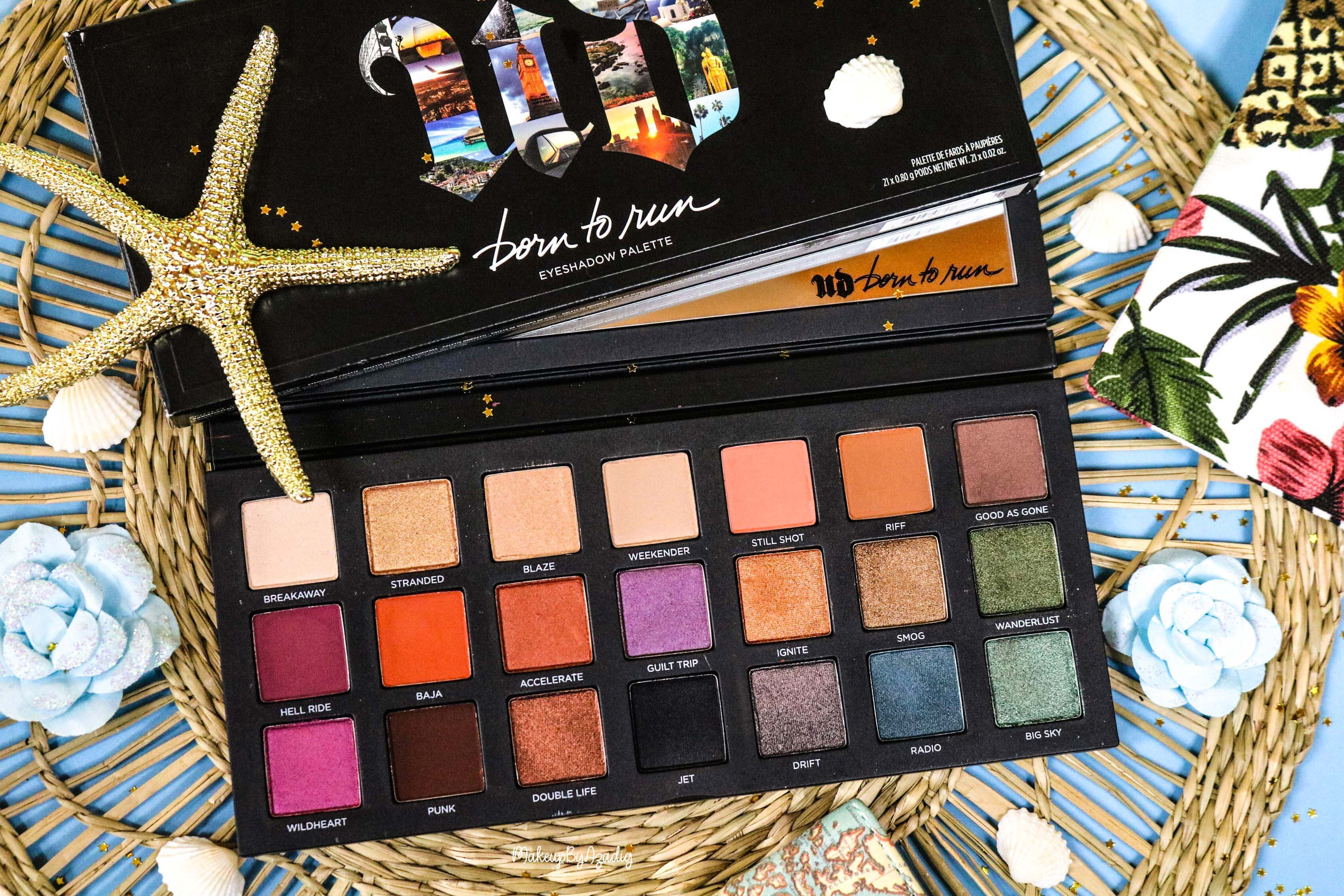 La nouvelle palette « Born To Run » de URBAN DECAY