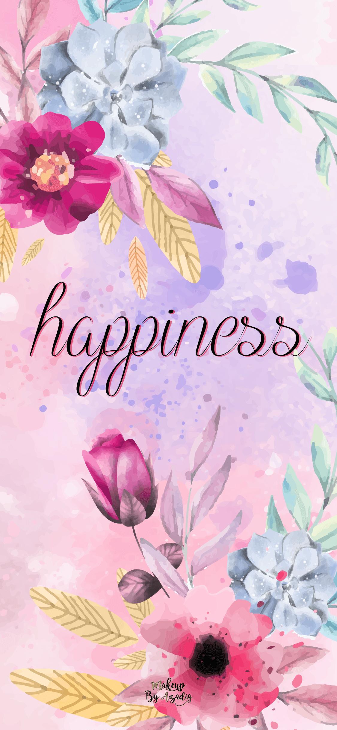 5 Fond D Ecran Happiness Flowers Wallpaper Makeupbyazadig