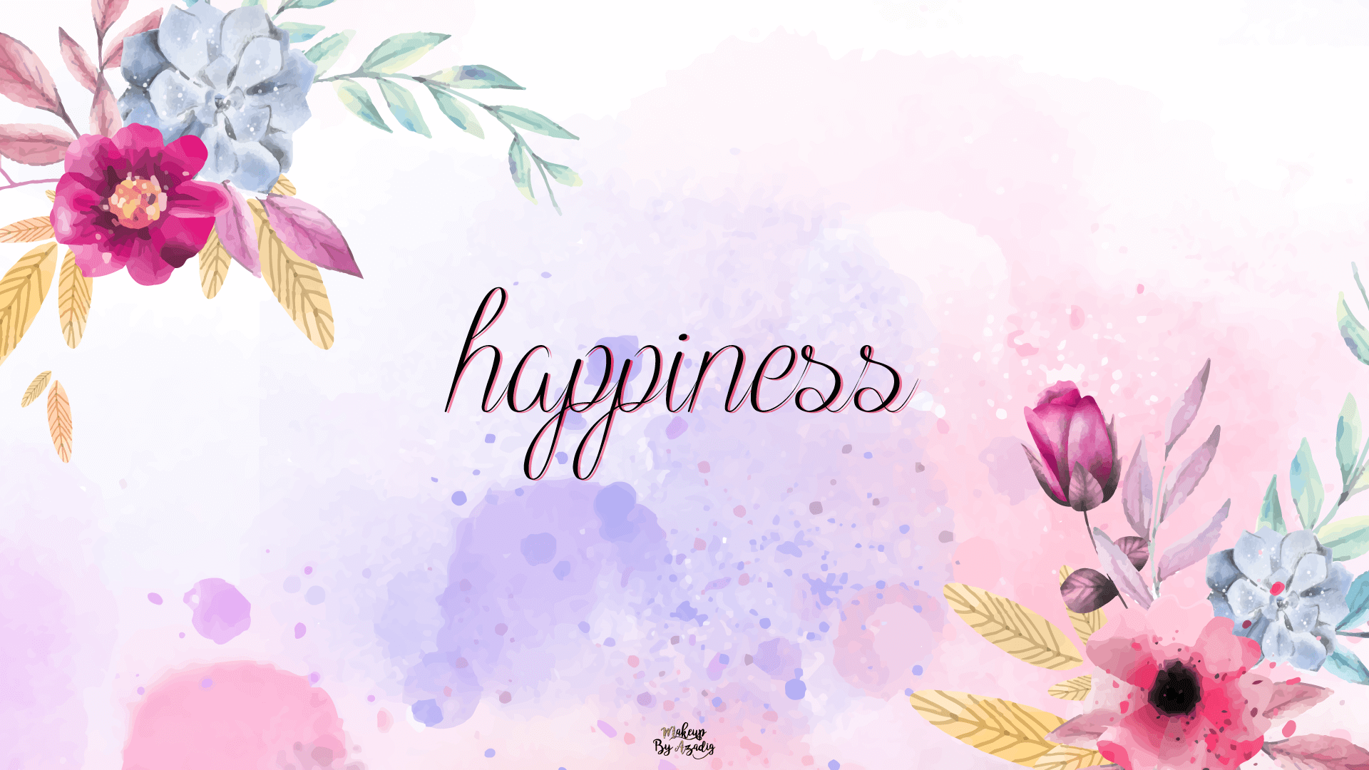5 Fond D écran Happiness Flowers Wallpaper Makeupbyazadig