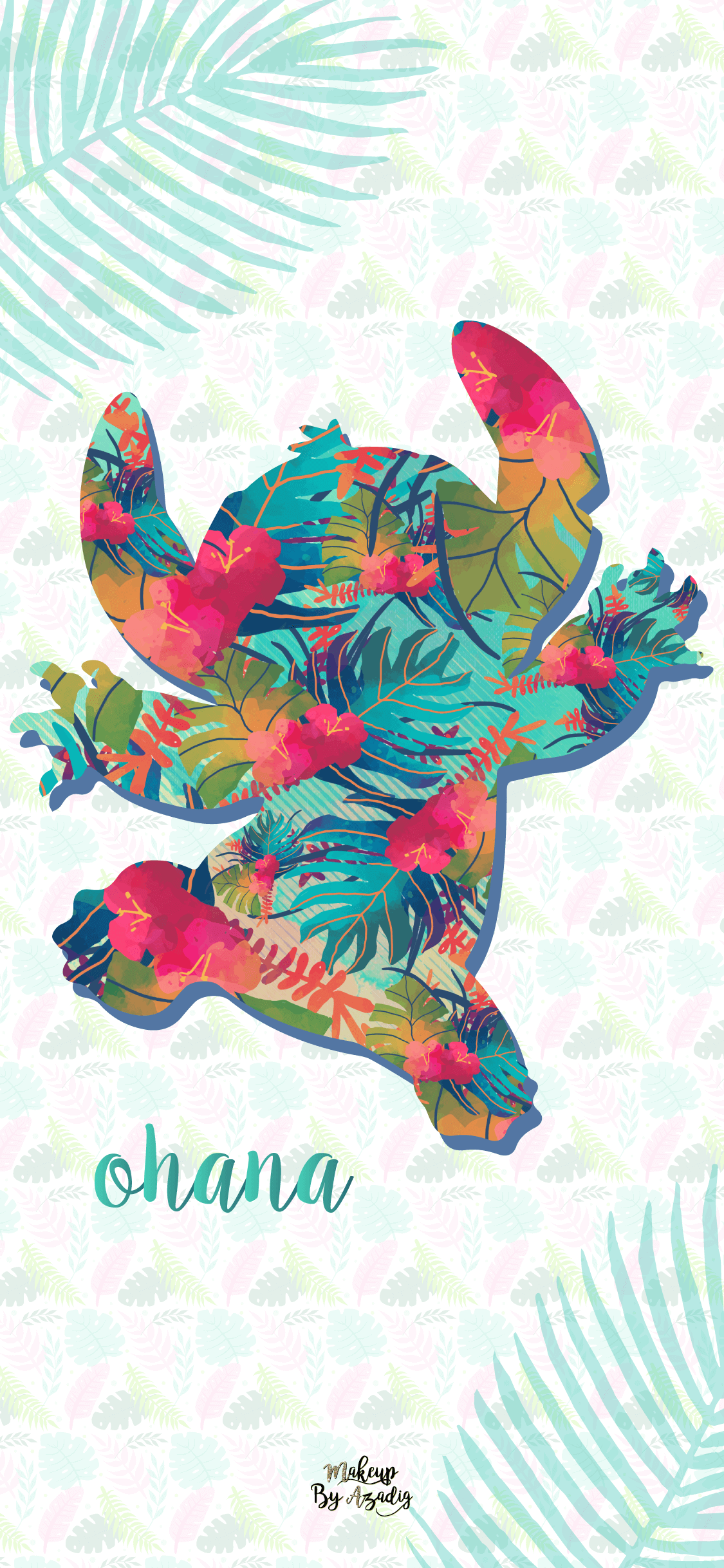 fond-decran-wallpaper-stitch-hawai-disney-iphone-X-makeupbyazadig-tendance