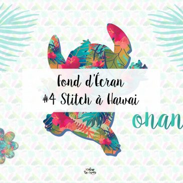 4 Fond D écran Disney Stitch à Hawaï Wallpaper