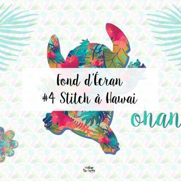 4 Fond Décran Disney Stitch à Hawaï Wallpaper
