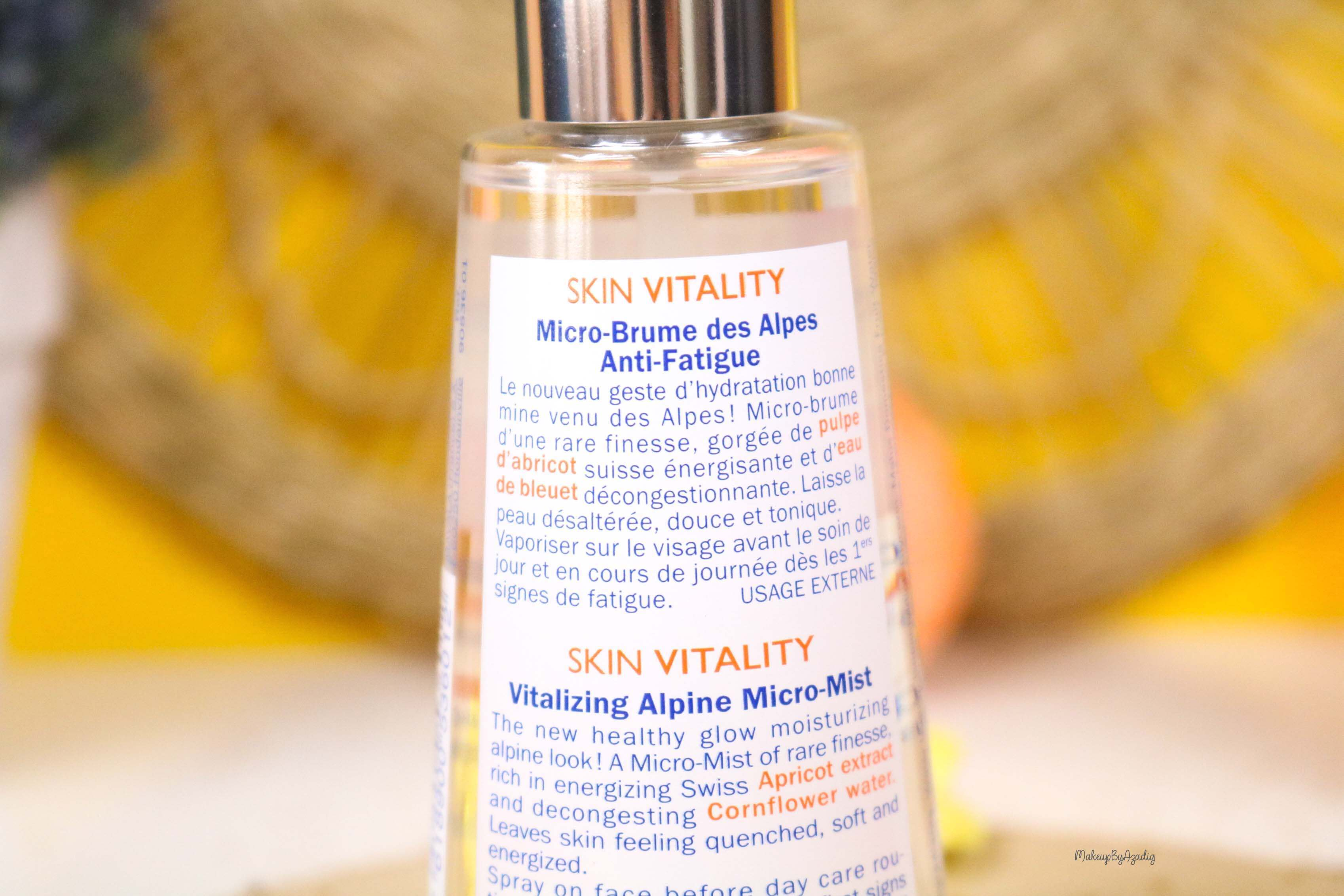 revue-routine-soin-bio-efficace-peau-sensible-skin-vitality-mavala-suisse-masque-nuit-serum-creme-jour-makeupbyazadig-alpes