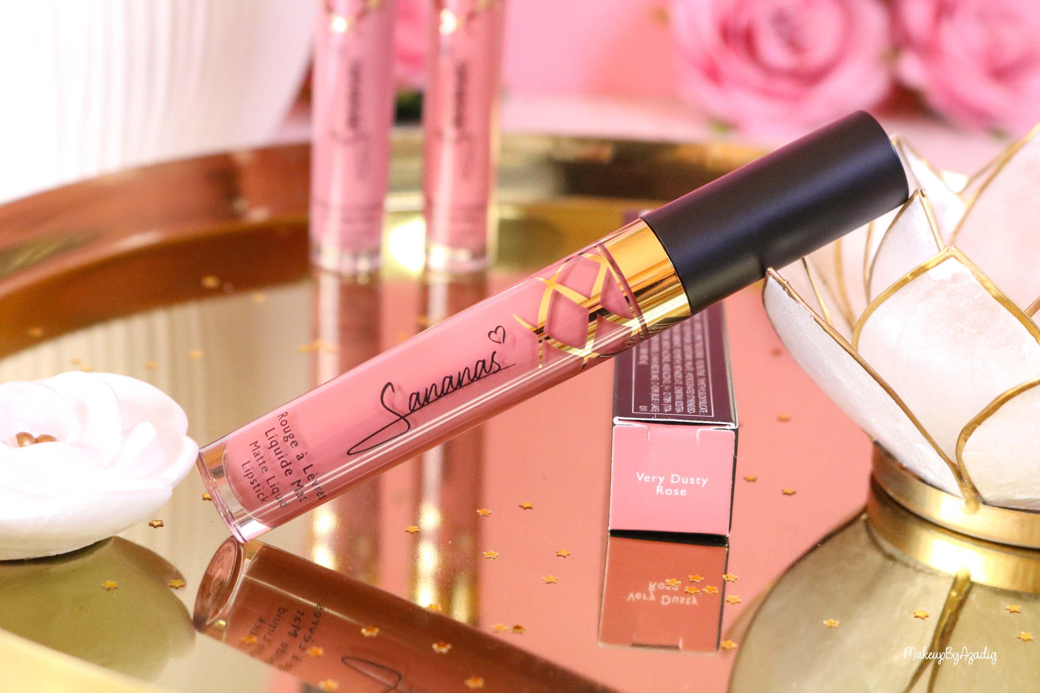 revue-marque-sananas-beauty-rouge-a-levres-vernis-kit-avis-prix-amazon-makeupbyazadig-dusty-pink-greige-rosier-rose
