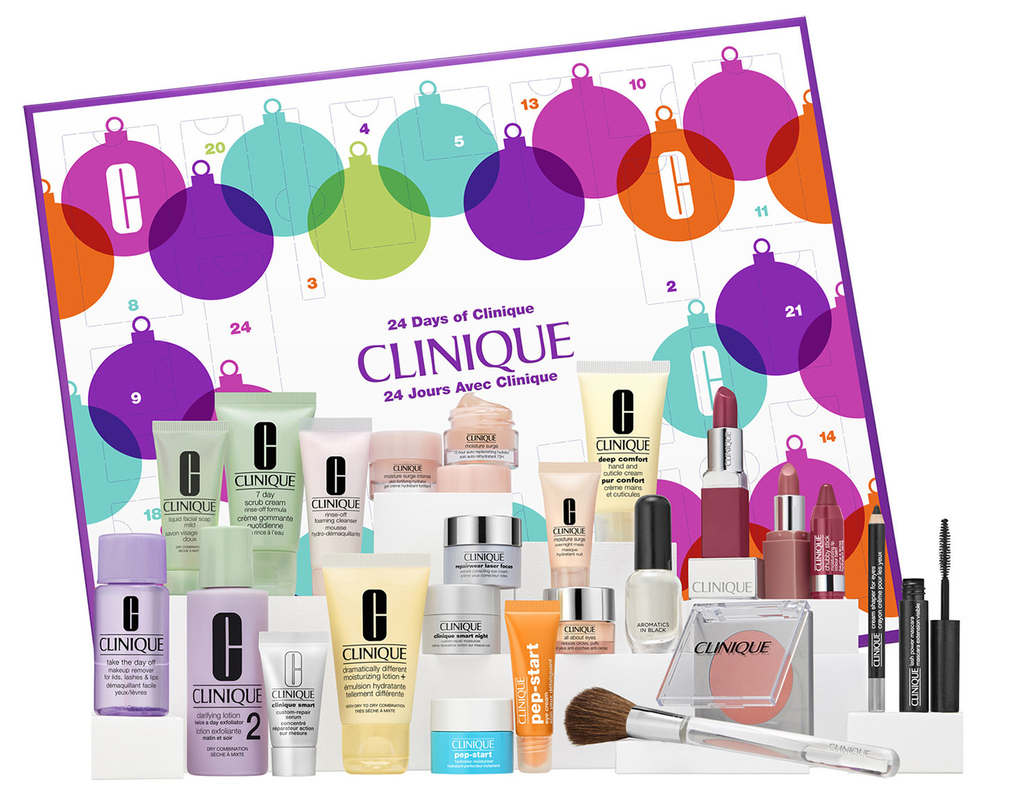 calendrier-clinique-2018-soins-maquillage-beaute-makeupbyazadig
