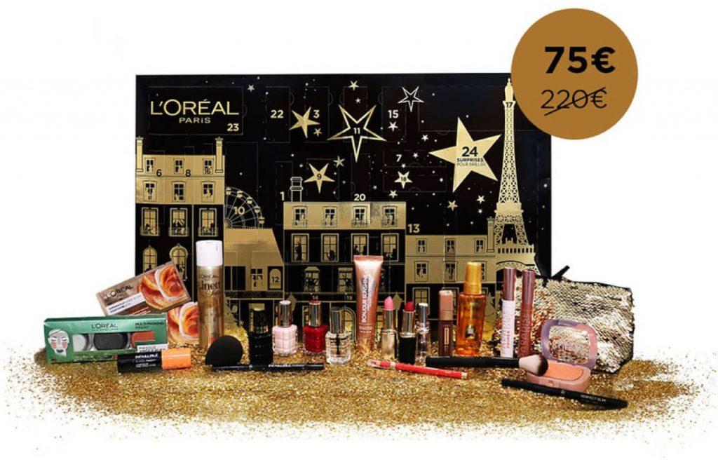 calendrier-loreal-paris-2018-maquillage-beaute-makeupbyazadig