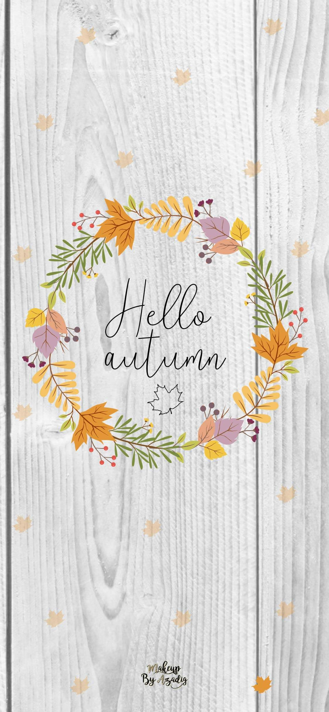 fond-decran-wallpaper-hello-couronne-automne-iphone-X-makeupbyazadig-tendance