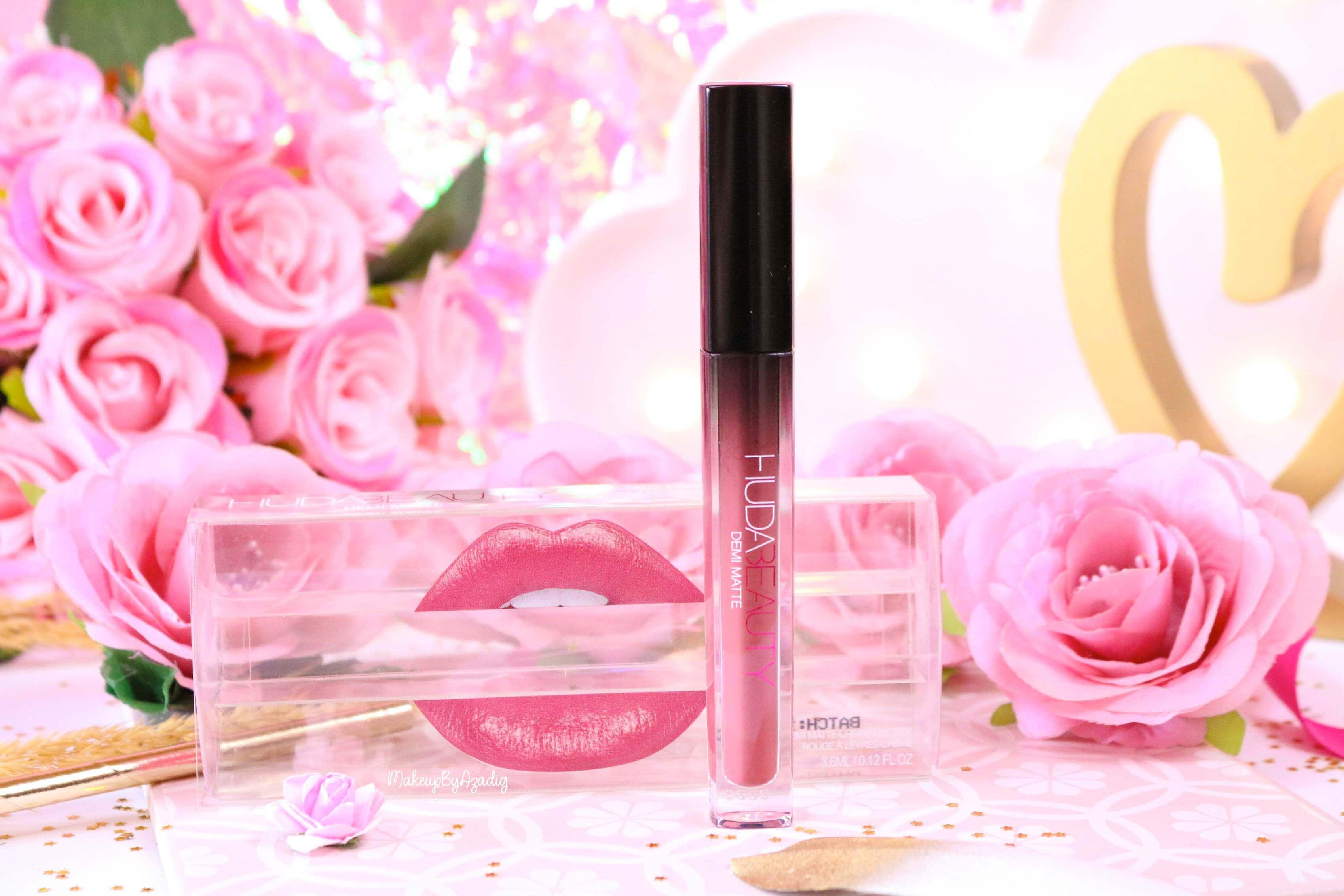revue-marque-huda-beauty-rouge-a-levres-demi-matte-coffret-avis-prix-sheikha-makeupbyazadig-review-2