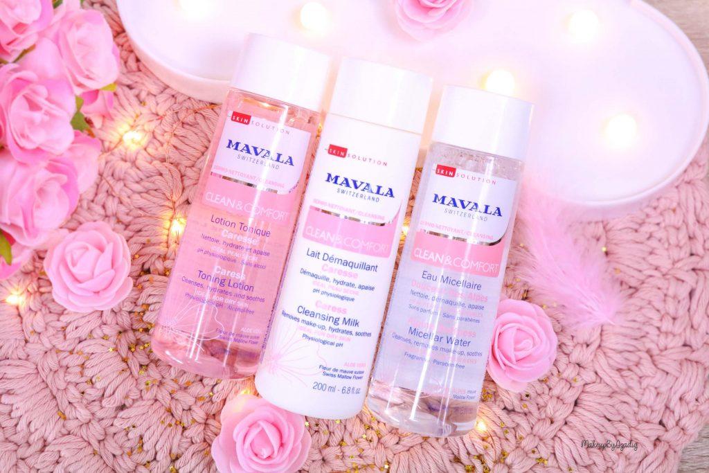 Ma routine démaquillage pour une peau bien nettoyée avec MAVALA