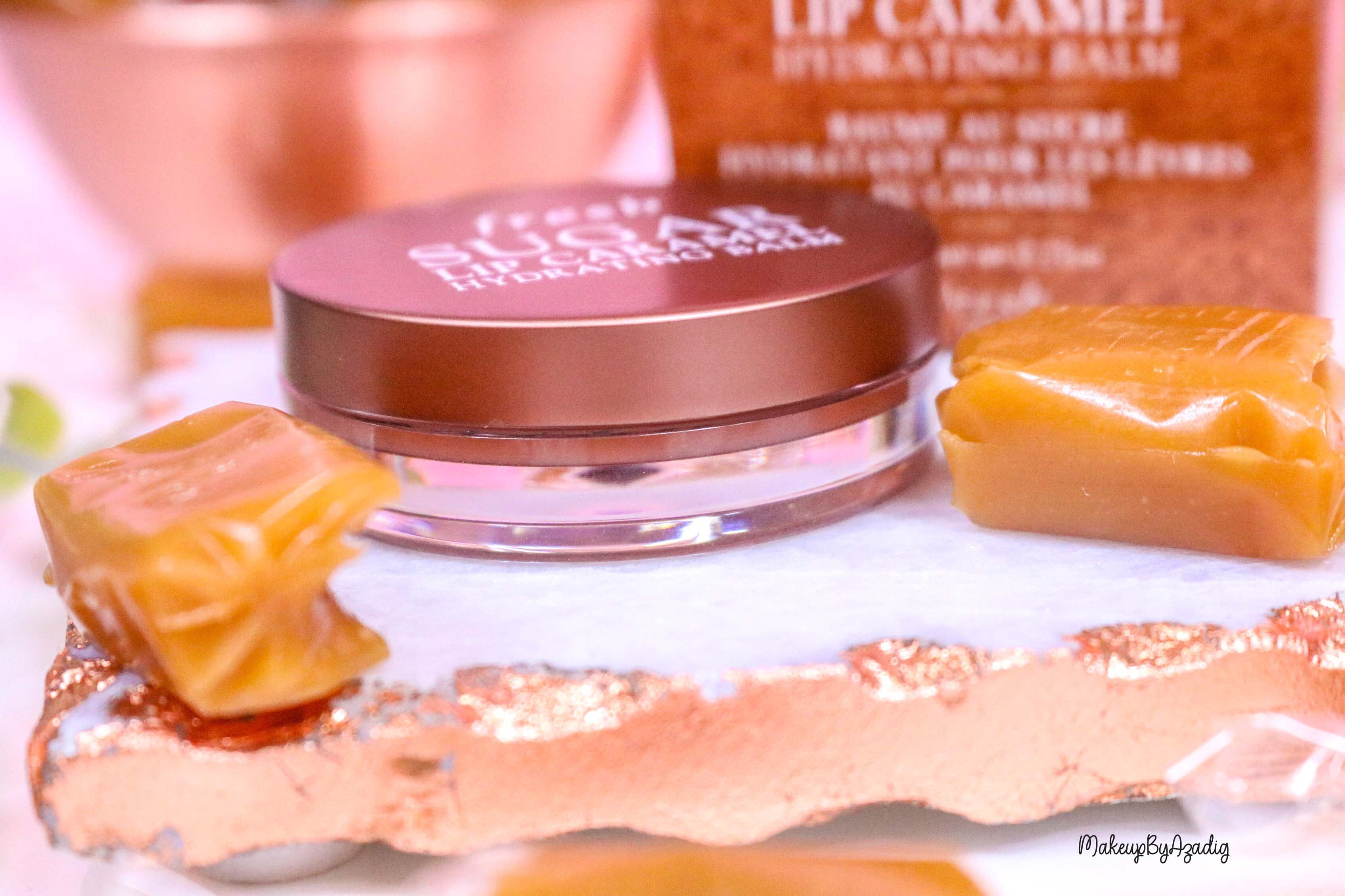 revue-baume-sucre-fresh-beauty-skincare-caramel-sugar-lip-caramel-sephora-makeupbyazadig-avis-prix-balm-boite