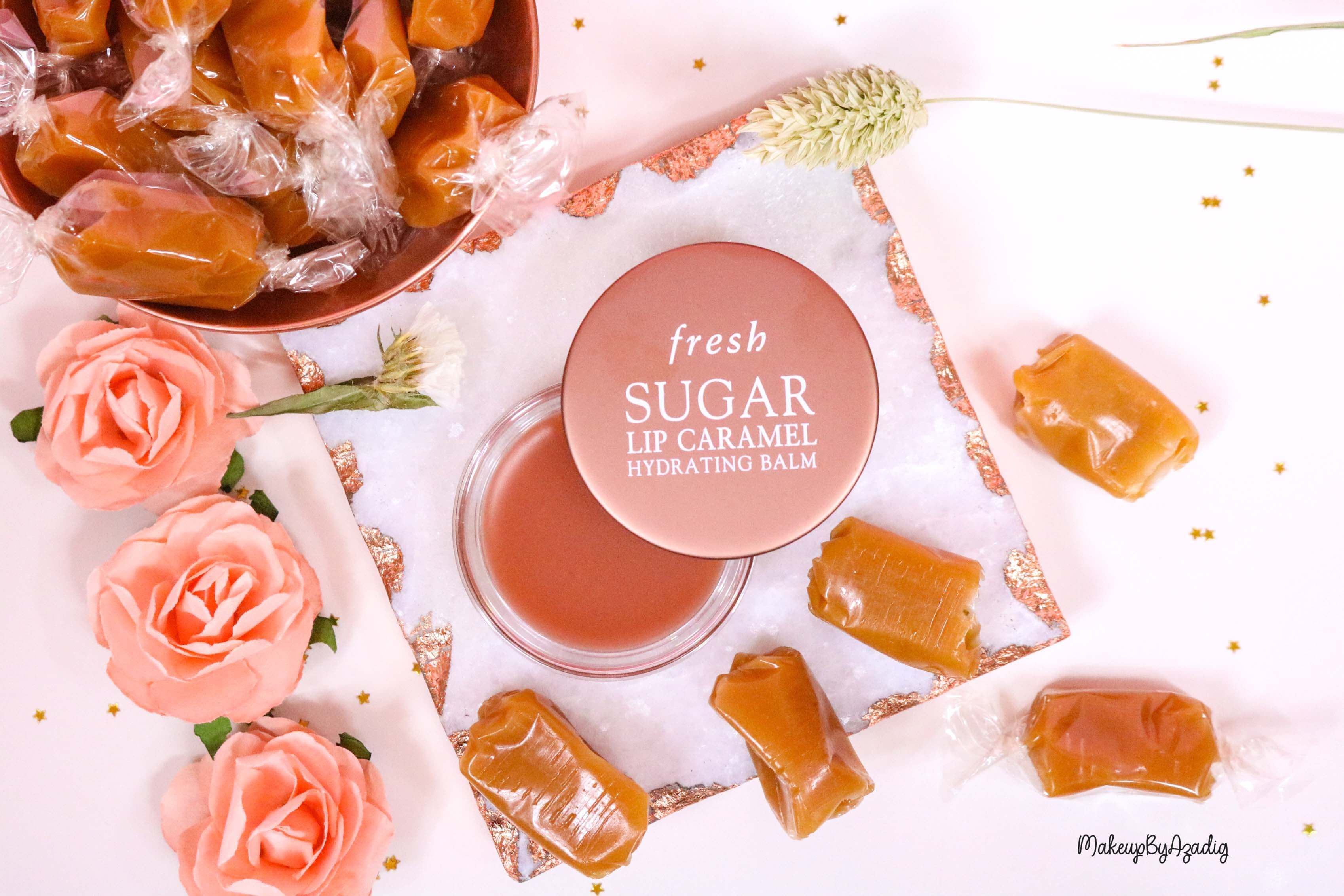 revue-baume-sucre-fresh-beauty-skincare-caramel-sugar-lip-caramel-sephora-makeupbyazadig-avis-prix-balm-food