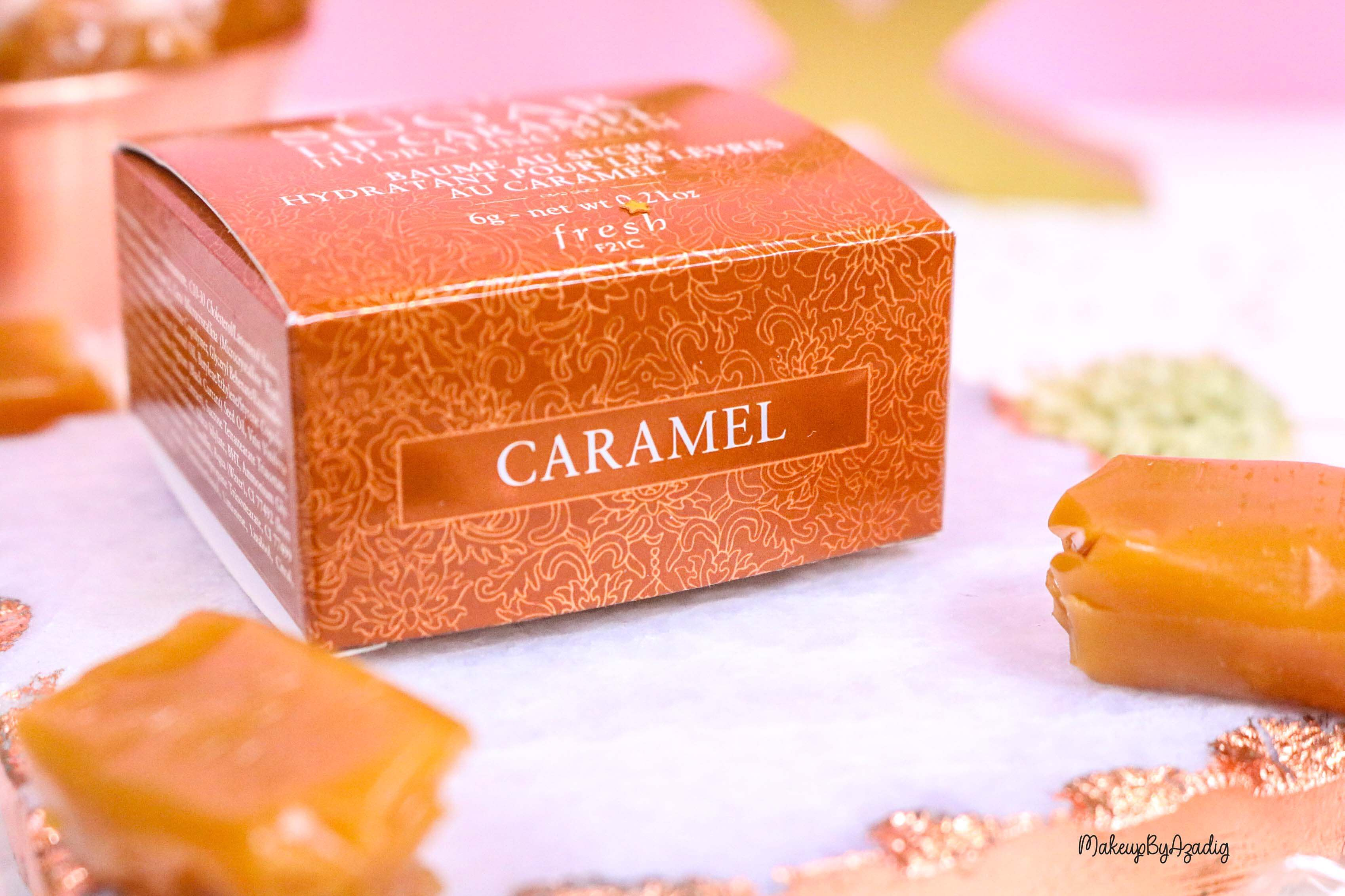 revue-baume-sucre-fresh-beauty-skincare-caramel-sugar-lip-caramel-sephora-makeupbyazadig-avis-prix-balm-gourmand