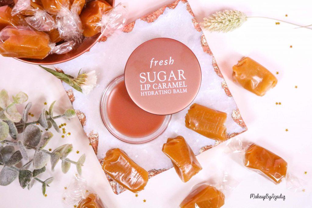 Le baume au sucre hydratant pour les lèvres « Sugar Lip Caramel » de FRESH