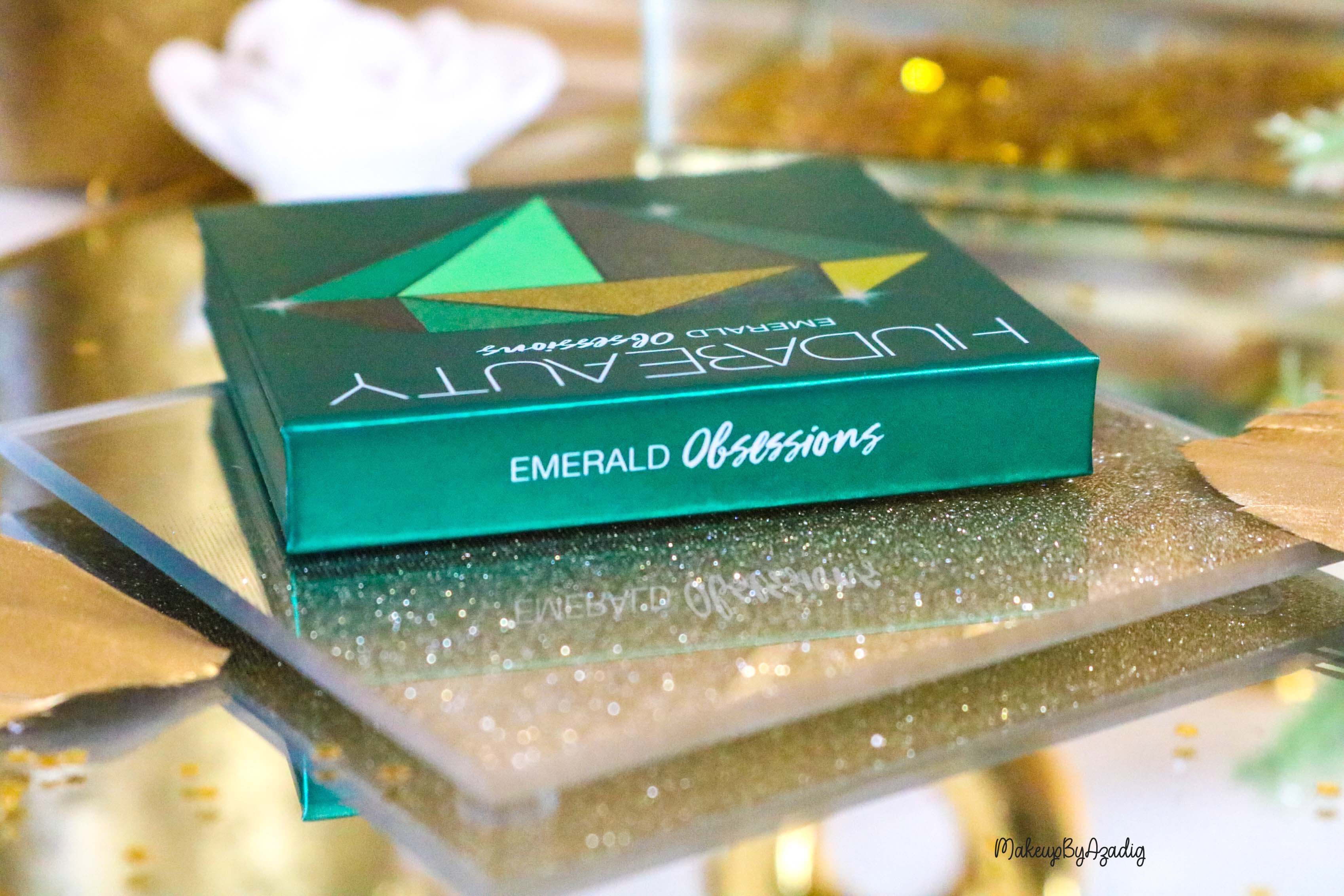 revue-review-palette-emerald-obsessions-huda-beauty-topaz-sapphire-avis-prix-swatch-makeupbyazadig-meilleure-packaging