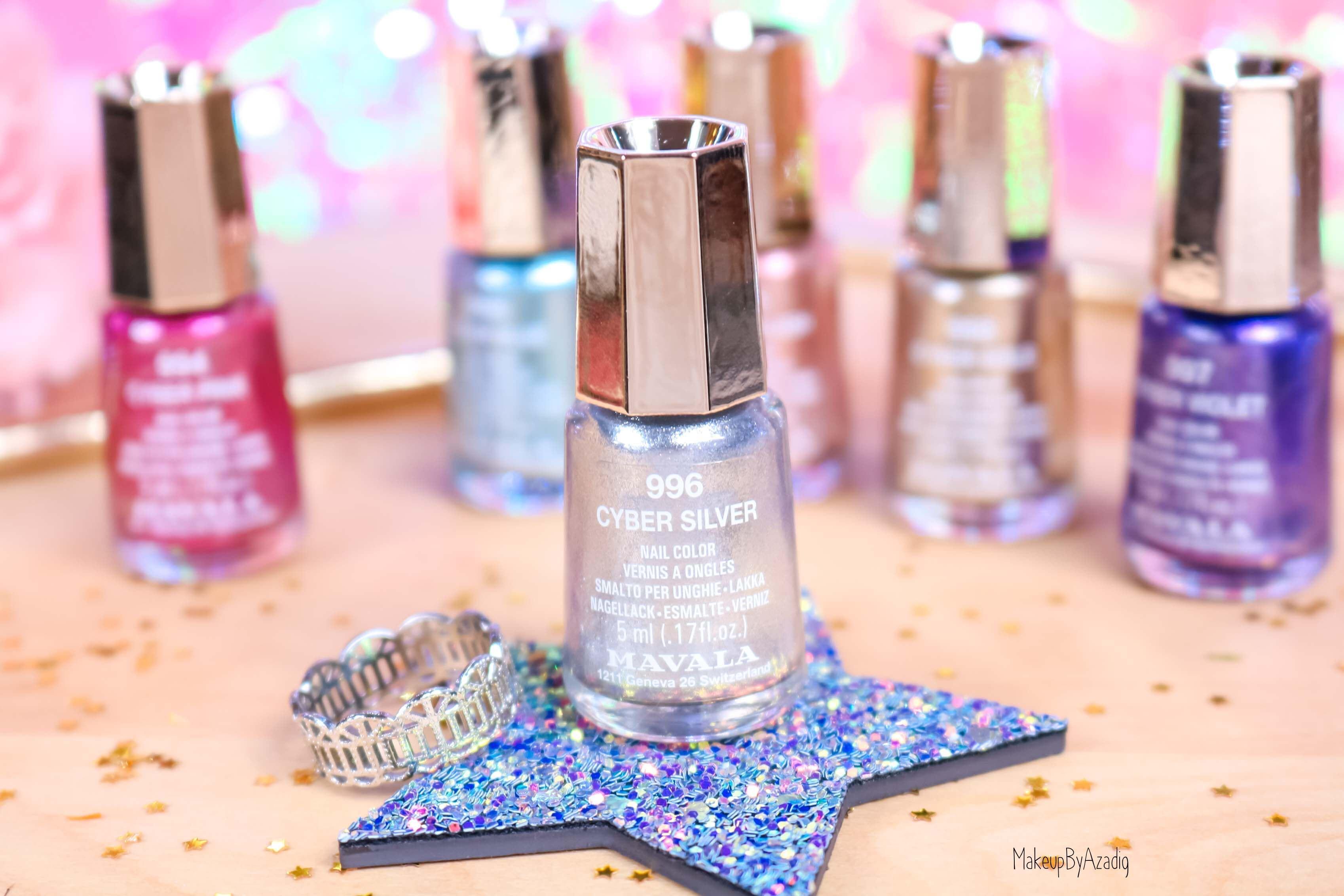 revue-collection-vernis-nails-cyber-chic-fetes-noel-metallique-gold-silver-makeupbyazadig-swatch-avis-prix-argent