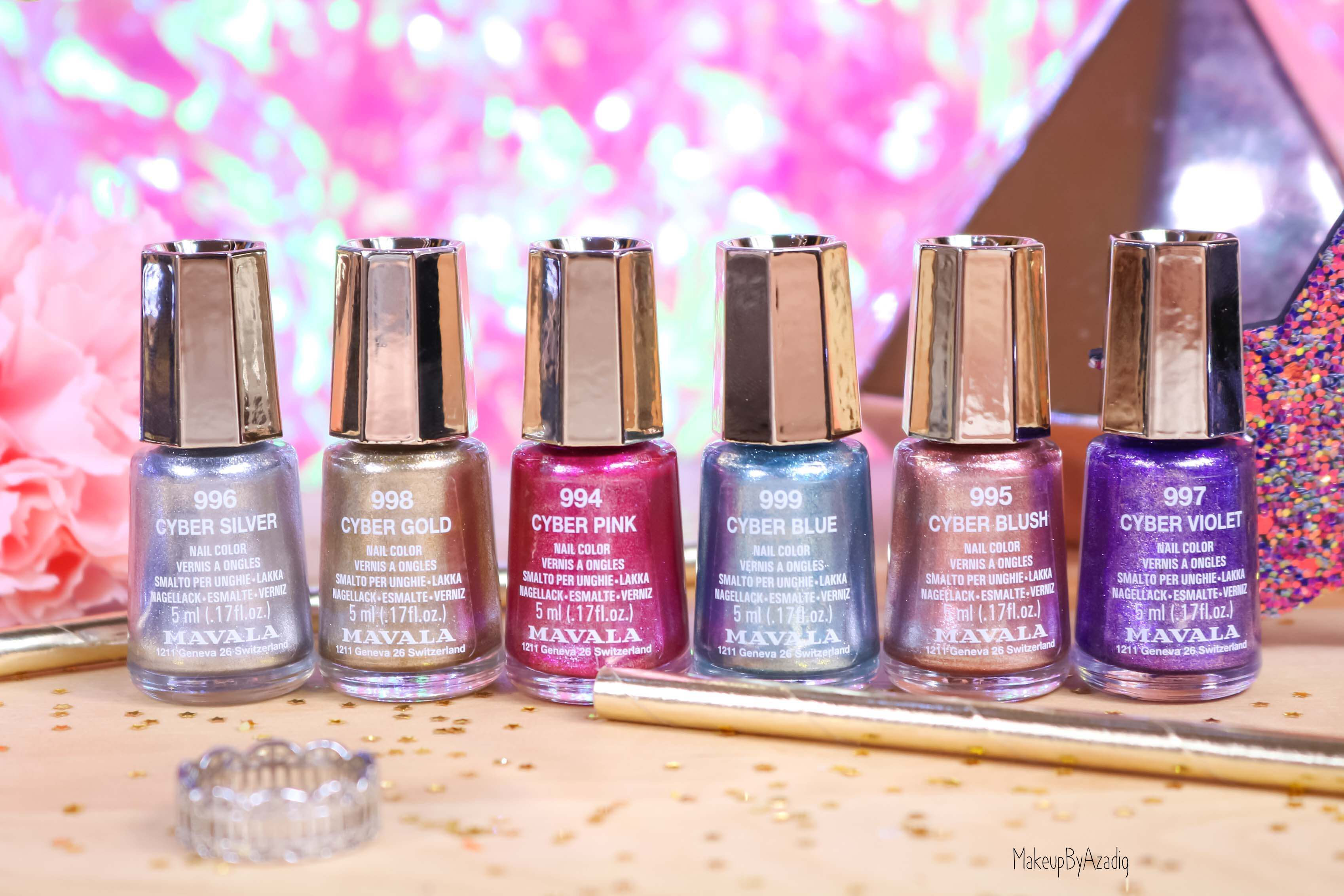 revue-collection-vernis-nails-cyber-chic-fetes-noel-metallique-gold-silver-makeupbyazadig-swatch-avis-prix-collector