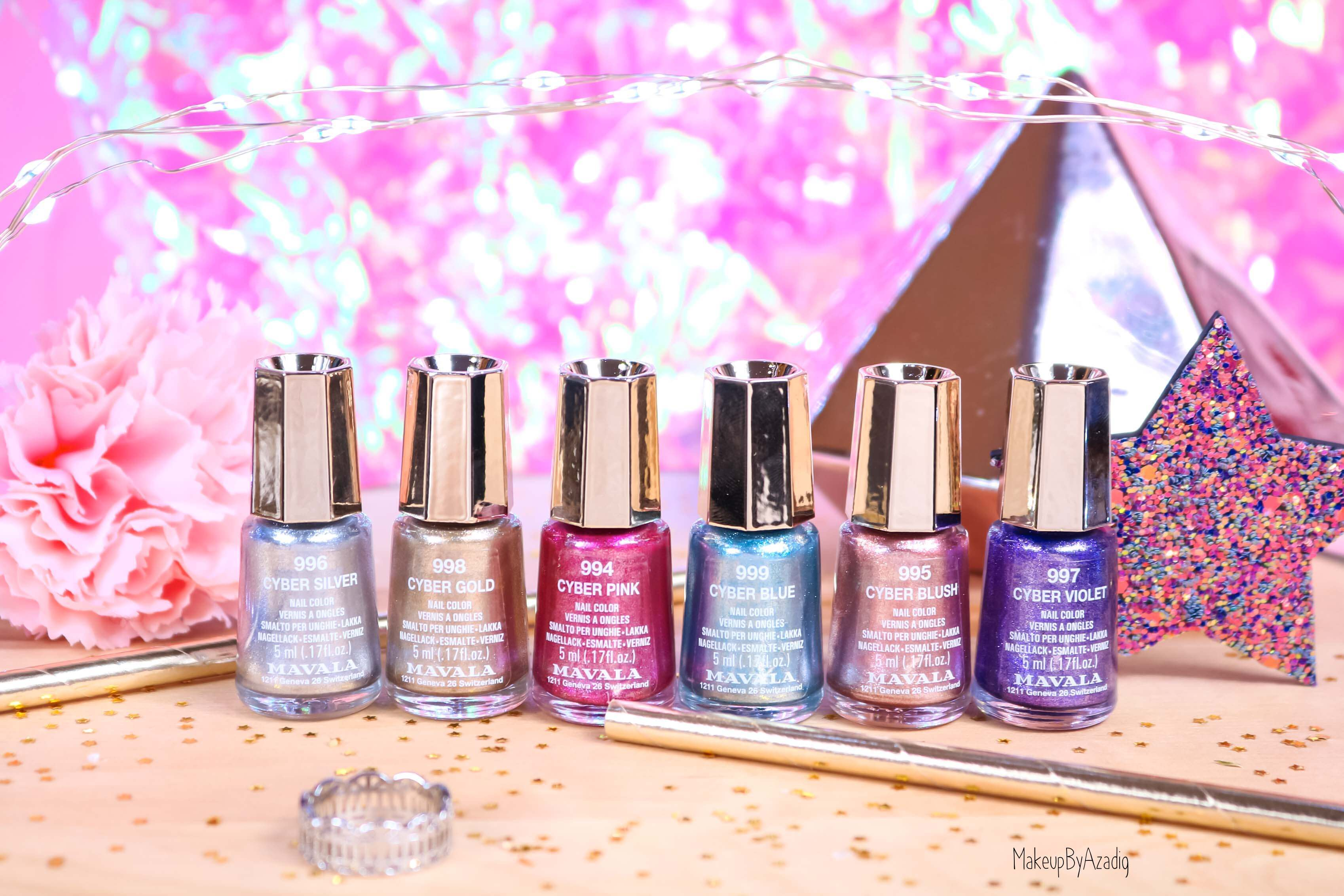 revue-collection-vernis-nails-cyber-chic-fetes-noel-metallique-gold-silver-makeupbyazadig-swatch-avis-prix-colors