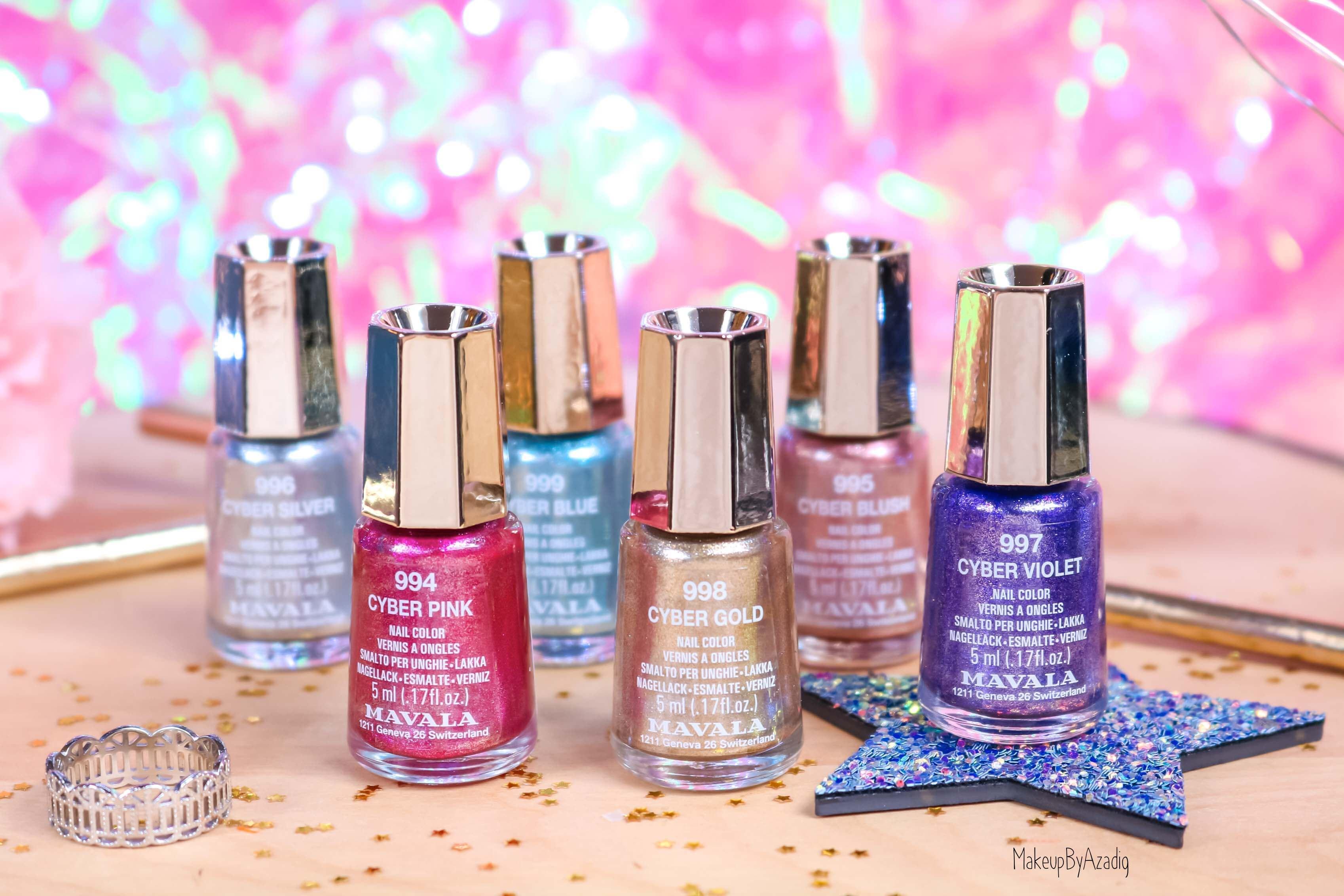 revue-collection-vernis-nails-cyber-chic-fetes-noel-metallique-gold-silver-makeupbyazadig-swatch-avis-prix-miniature