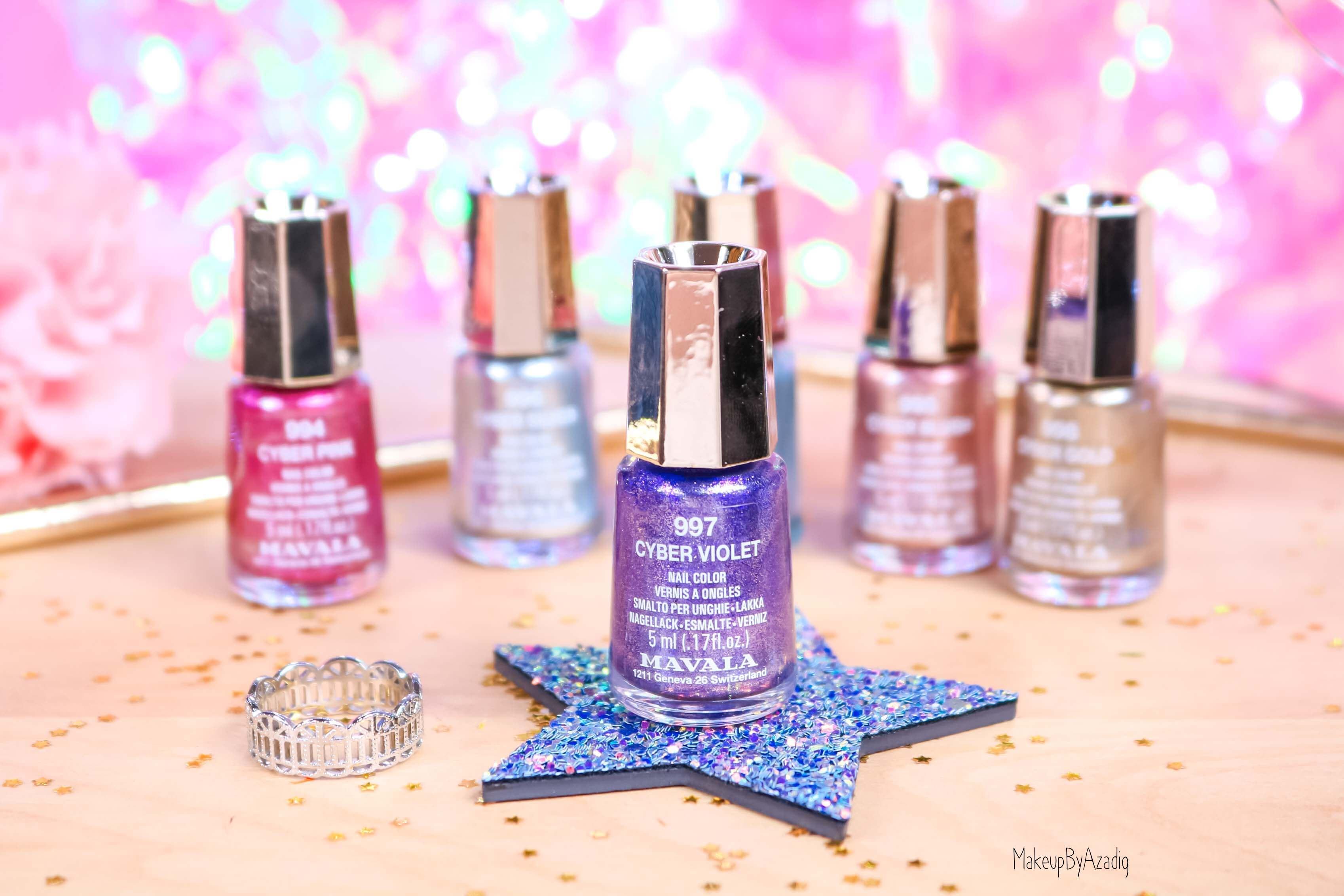 revue-collection-vernis-nails-cyber-chic-fetes-noel-metallique-gold-silver-makeupbyazadig-swatch-avis-prix-violet