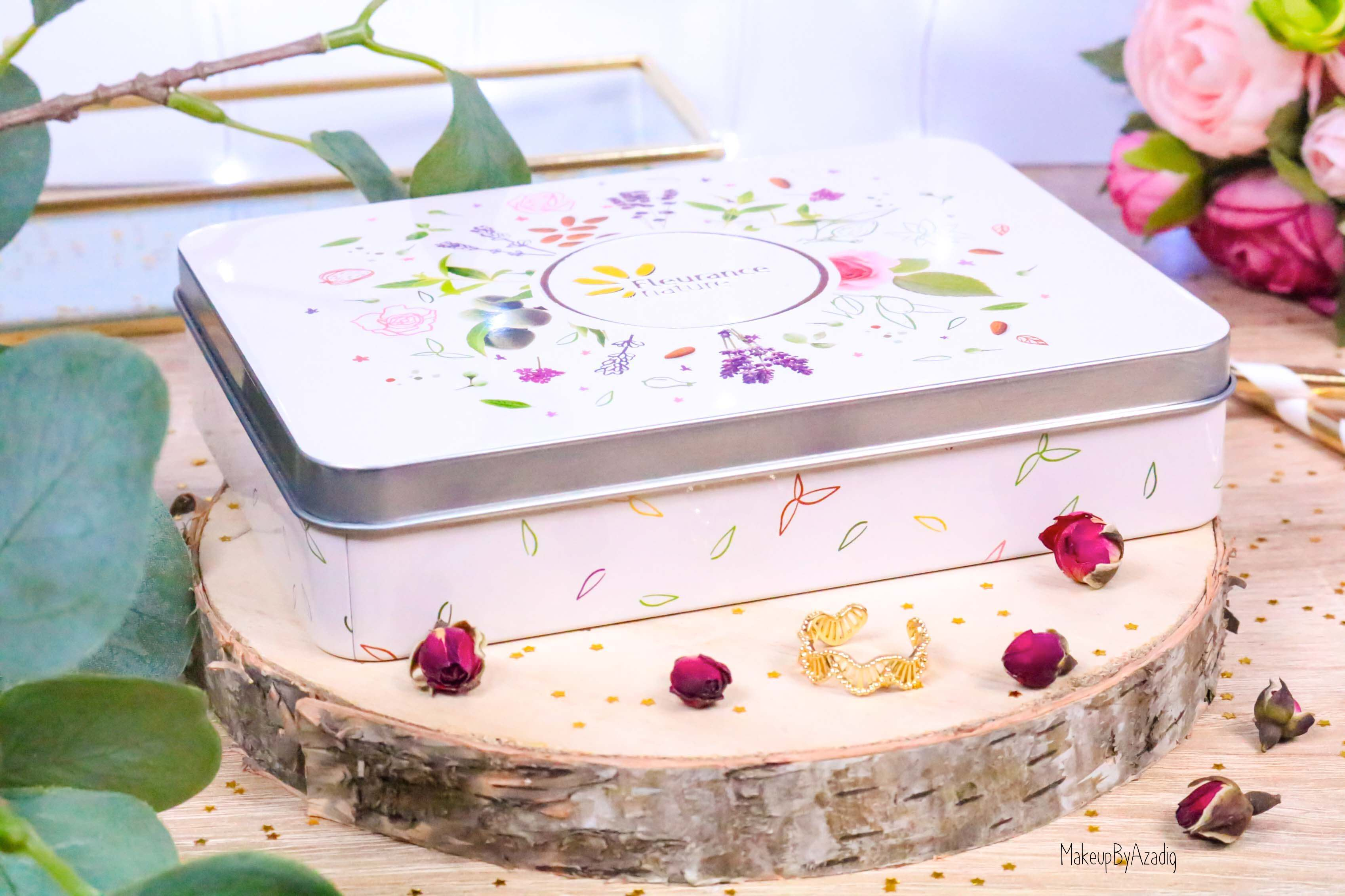 revue-creme-hydratante-reparatrice-mains-hand-bio-beaute-fleurance-nature-makeupbyazadig-verveine-lavande-rose-amande-boite