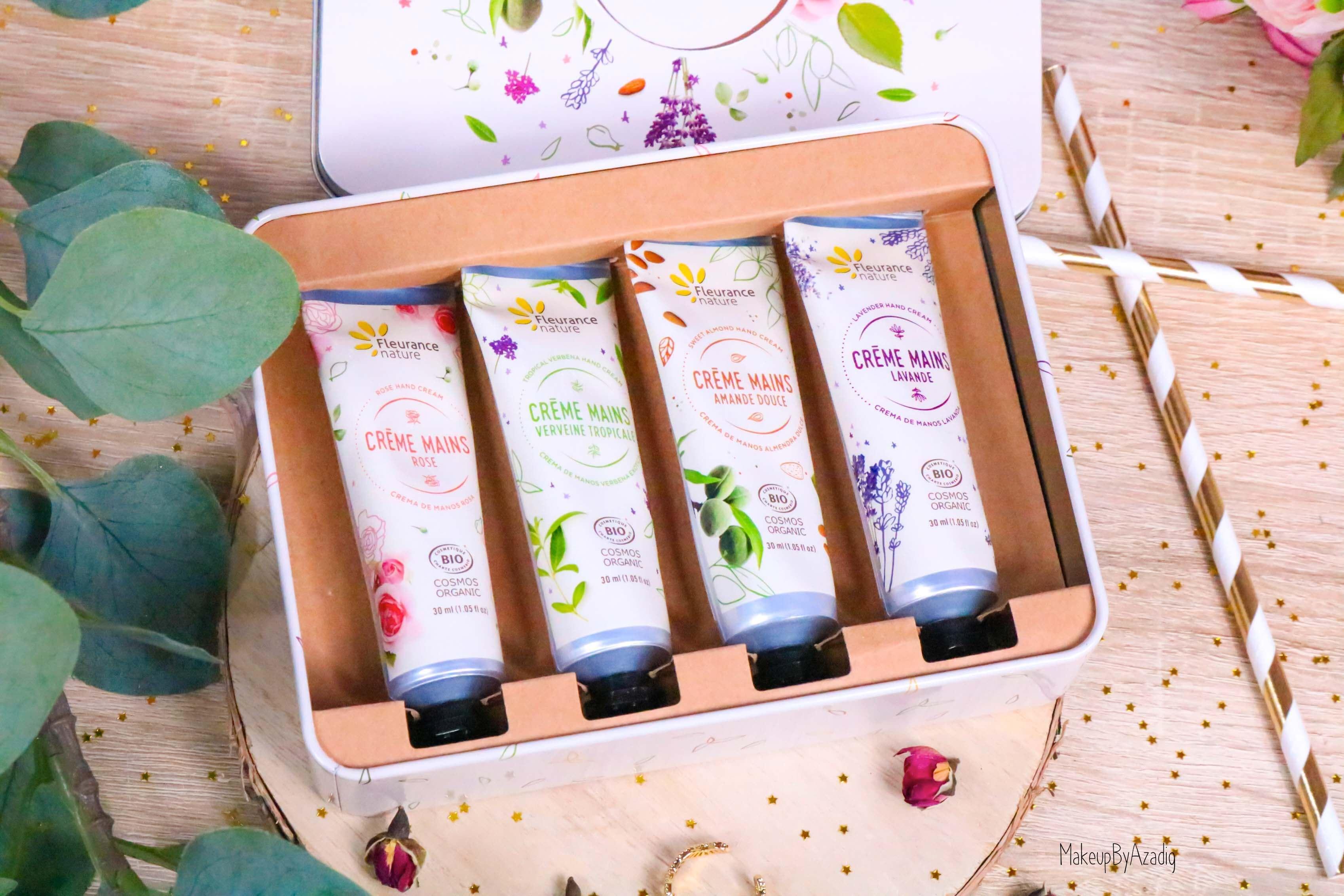 revue-creme-hydratante-reparatrice-mains-hand-bio-beaute-fleurance-nature-makeupbyazadig-verveine-lavande-rose-amande-organic