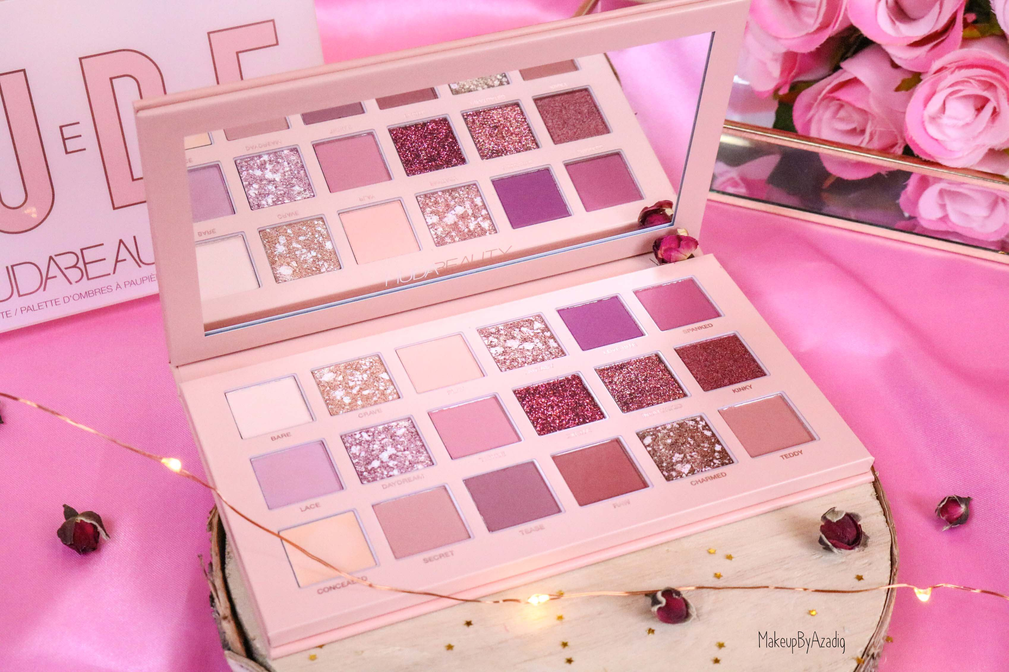revue-review-palette-new-nude-obsessions-huda-beauty-nacre-sephora-avis-prix-swatch-makeupbyazadig-france